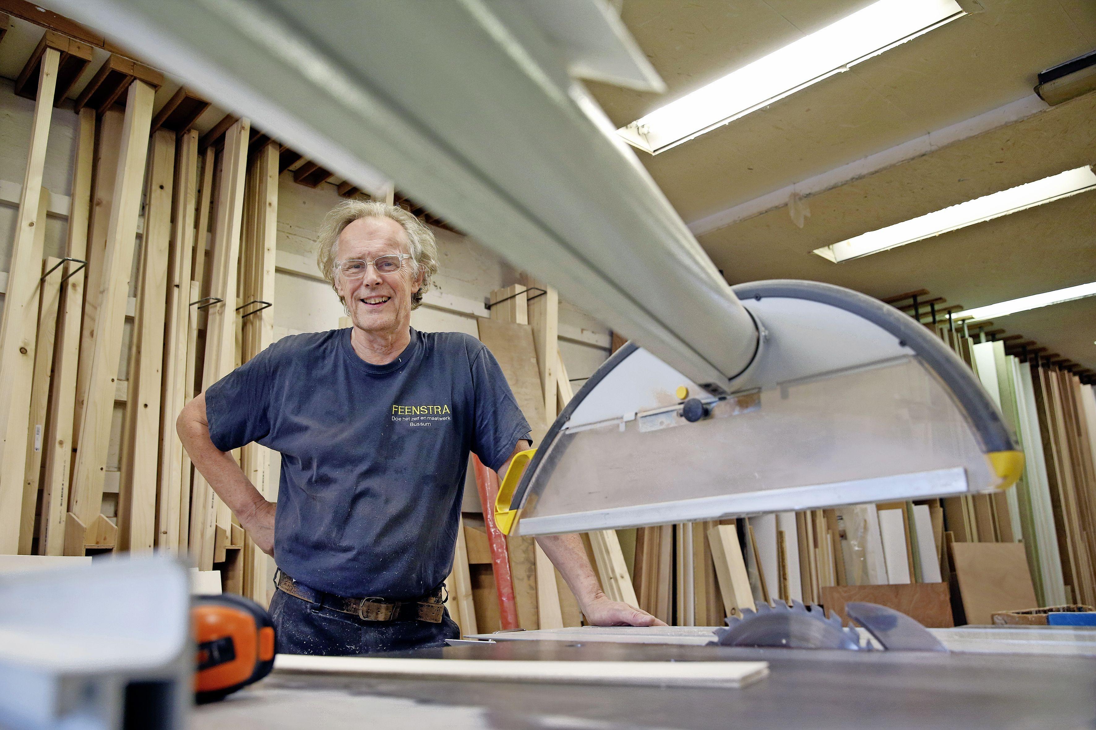 Bussum moet verder zonder de doe-het-zelf-winkel Feenstra. 'Alles wat hij zaagde was op maat. Hij was echt een tovenaar met hout'