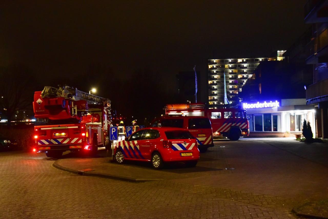 Bewoners van woonzorglocatie in Alphen aan den Rijn geëvacueerd vanwege brand