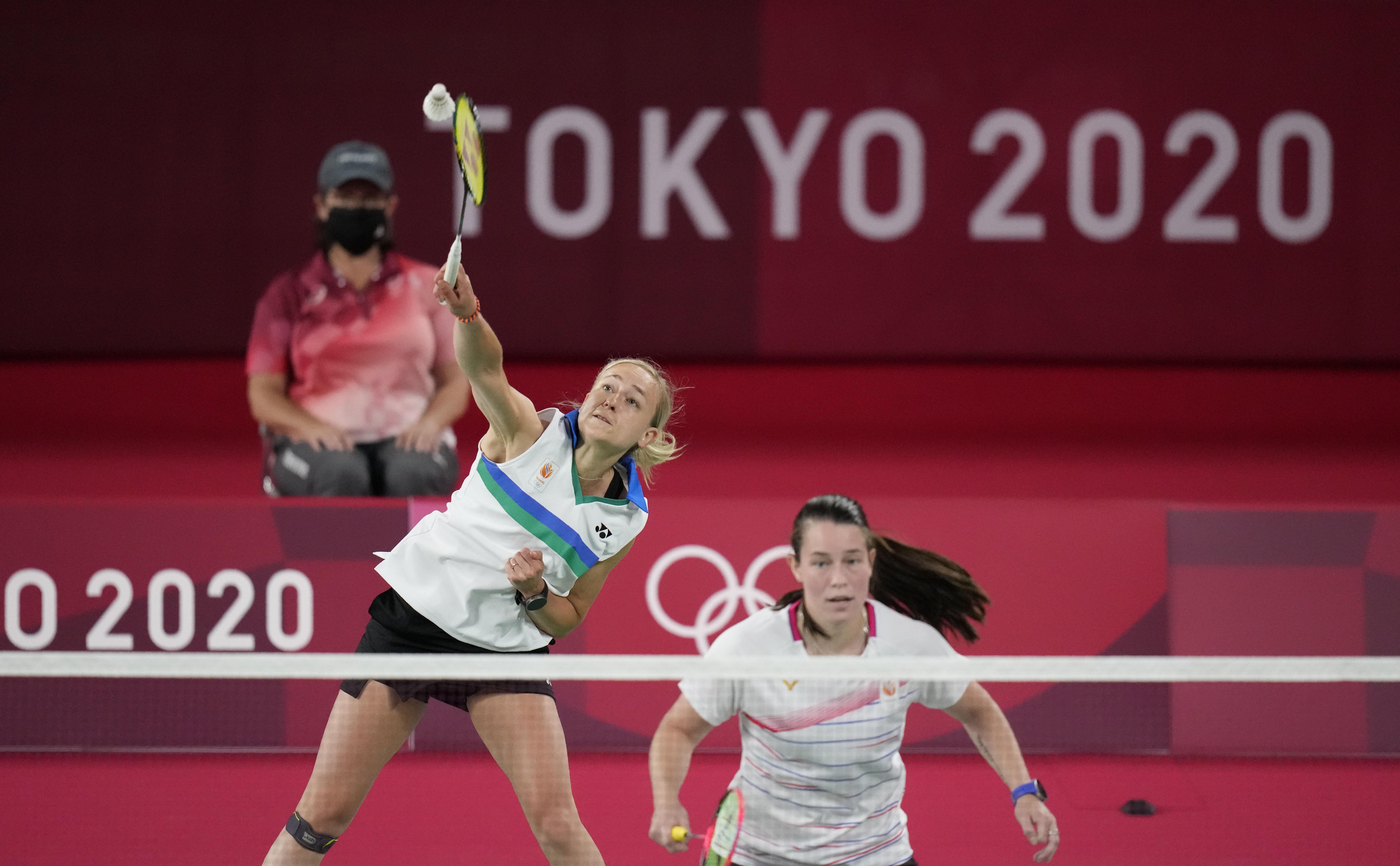 Winst badmintonners Piek en Seinen in olympisch dubbelspel