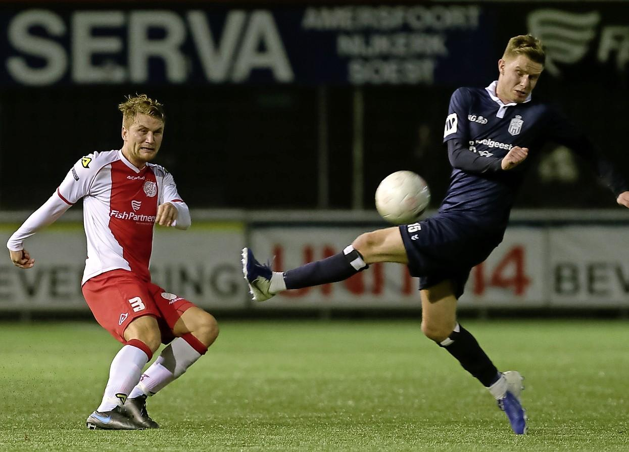 Alleen in Den Helder blijft de markt flink in beweging: veel verkeer voetballers van en naar HCSC