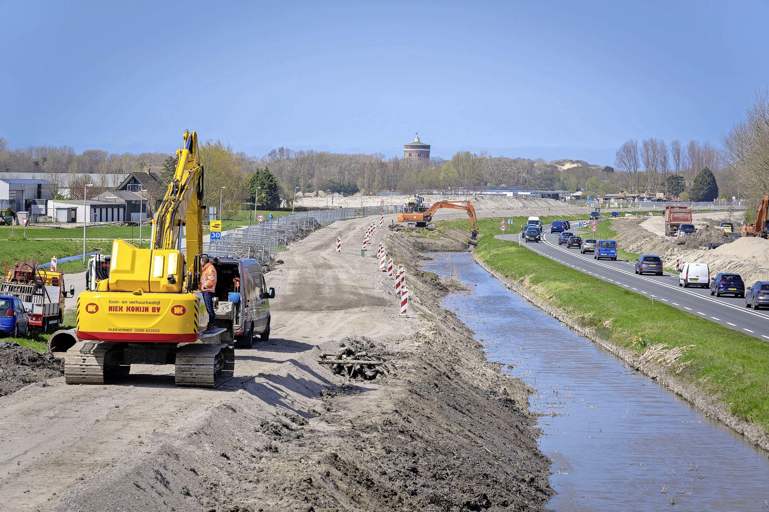 Vervuild ophoogmateriaal voor verbreding N206 bij Valkenburg mogelijk wettelijk toegestaan: 'Daar houden we rekening mee'