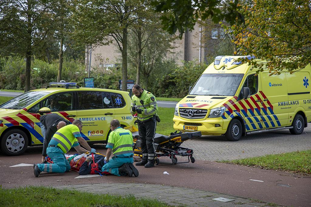 Gewonde en aanhouding bij ongeval in Santpoort-Noord