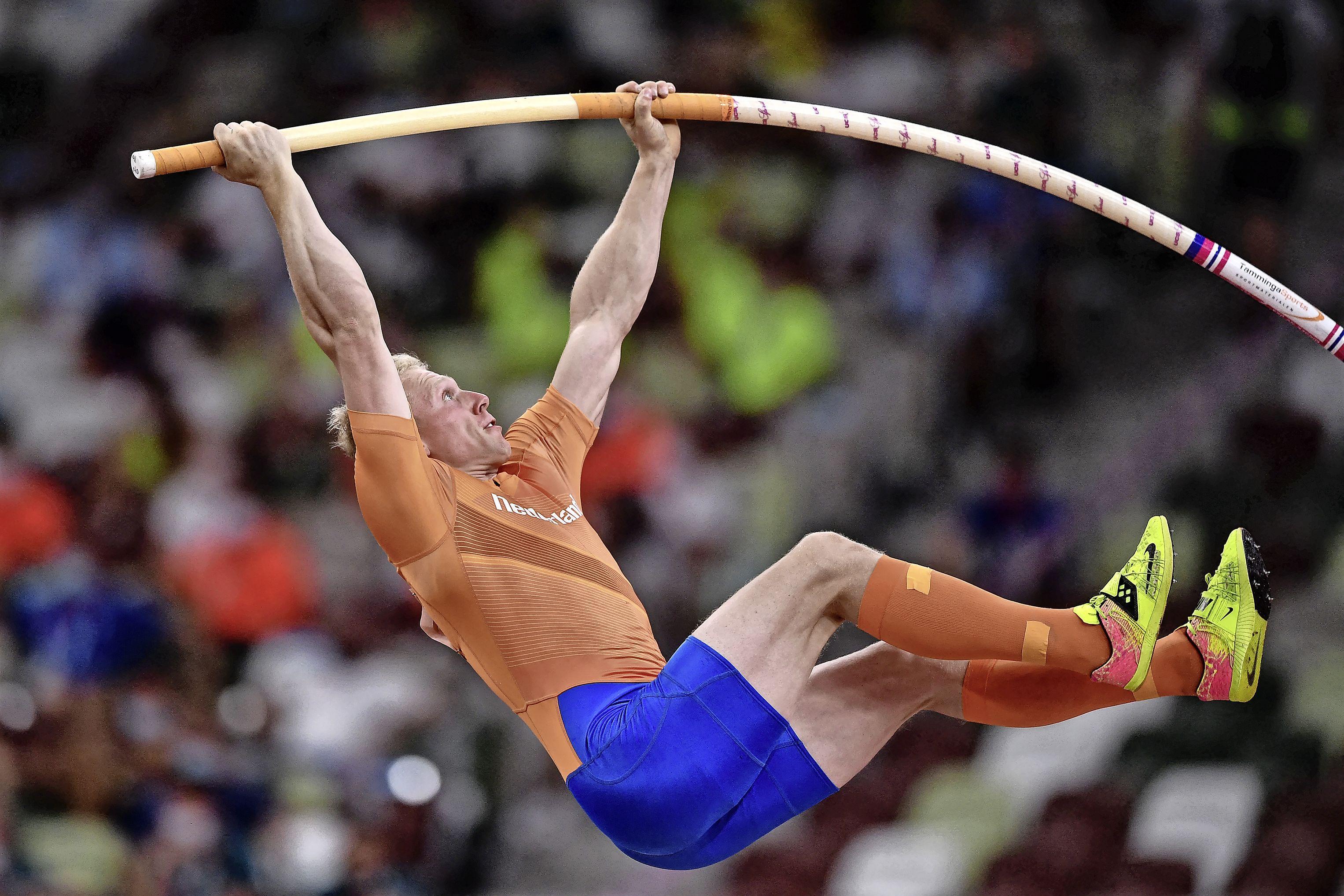 Menno Vloon uit Krommenie al snel klaar in olympische finale polsstokhoogspringen