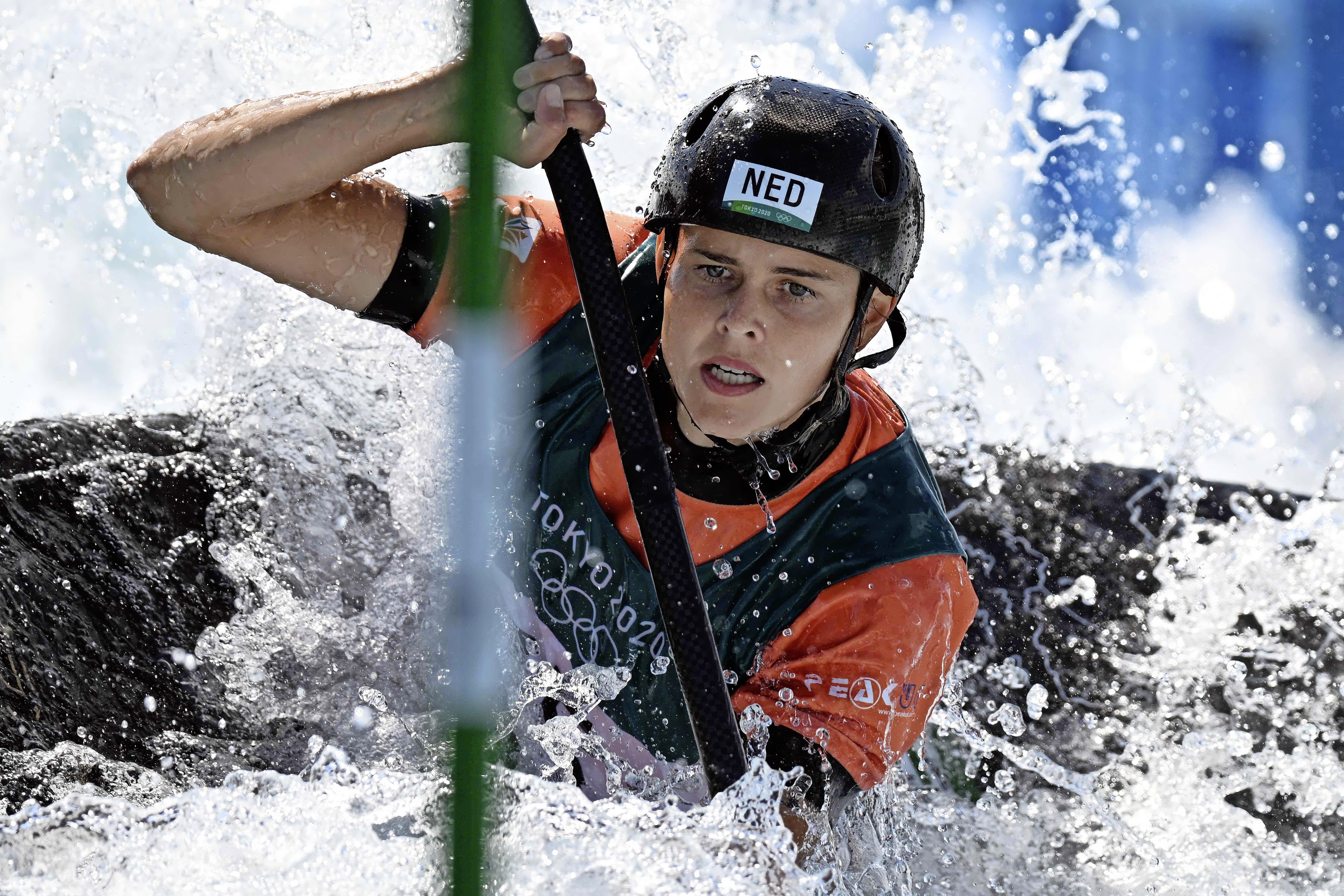 Schoorlse kanovaarster Wegman naar olympische finale slalom