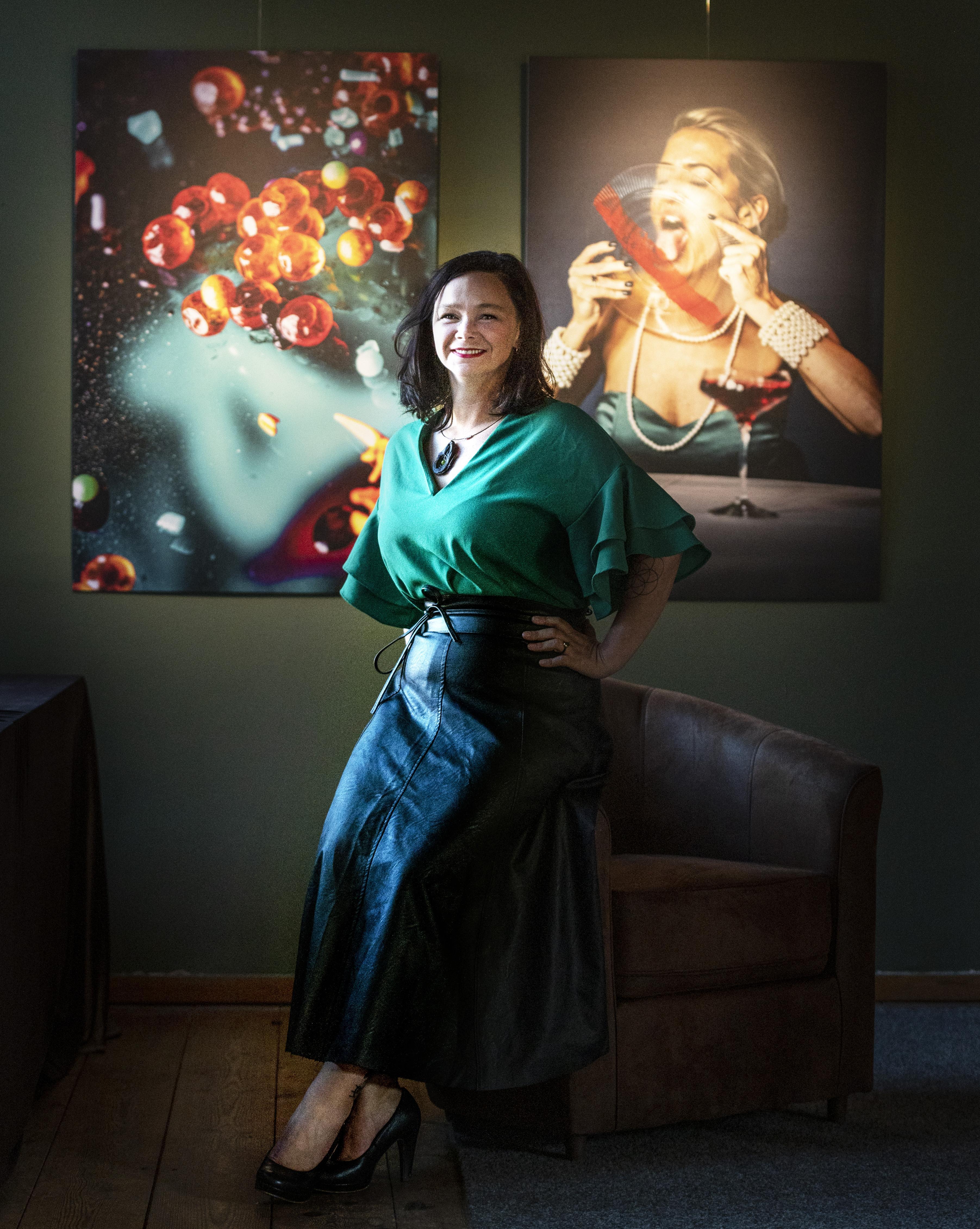 Fotografe Saskia de Wal brengt met Oral Fixation een ode aan de mond. 'Sensualiteit en eten gaan hand in hand'