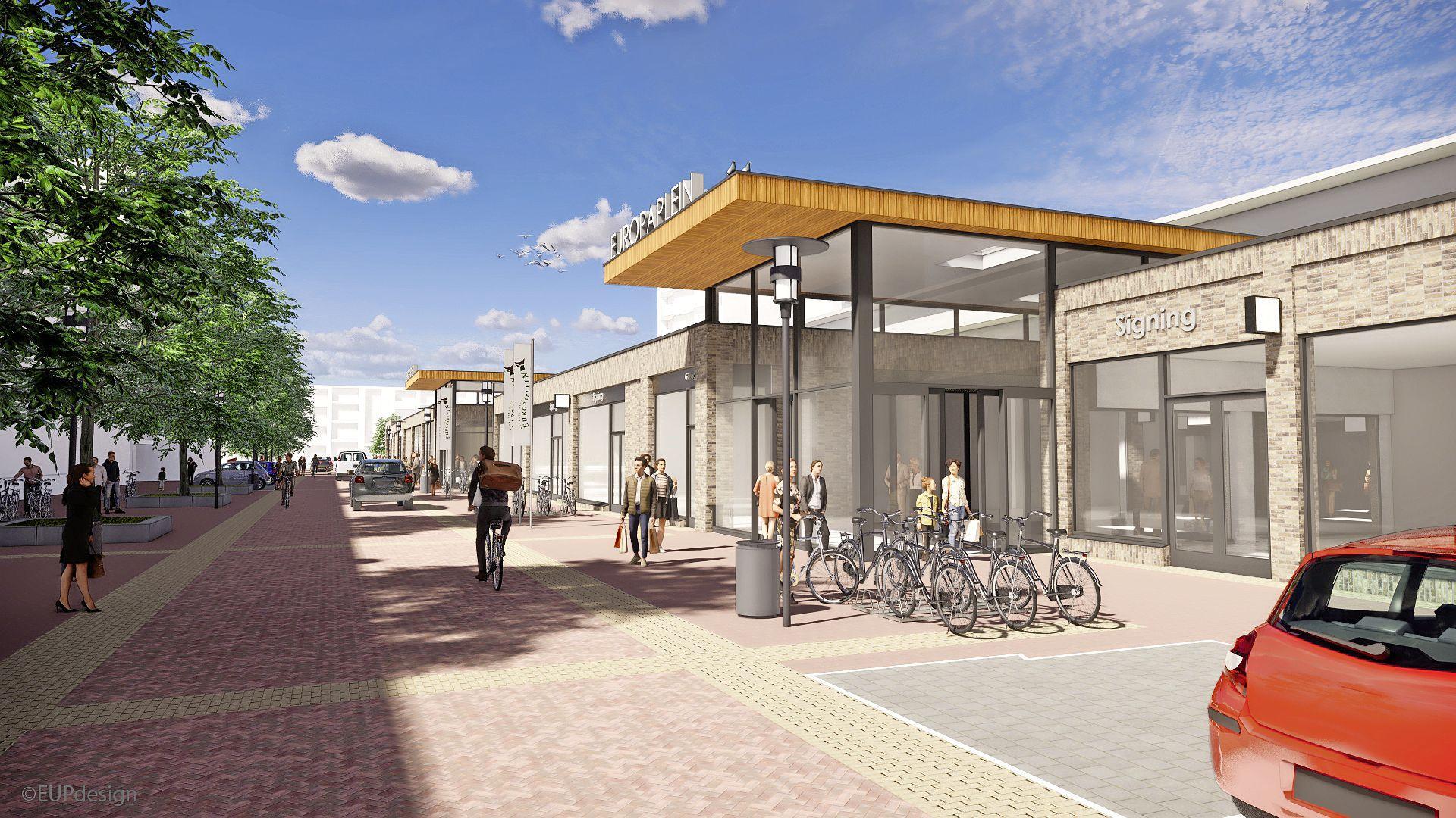 Vanaf mei anderhalf jaar afzien, maar dan heb je ook wat in Heemskerk: een vernieuwd winkelcentrum met Lidl en AH