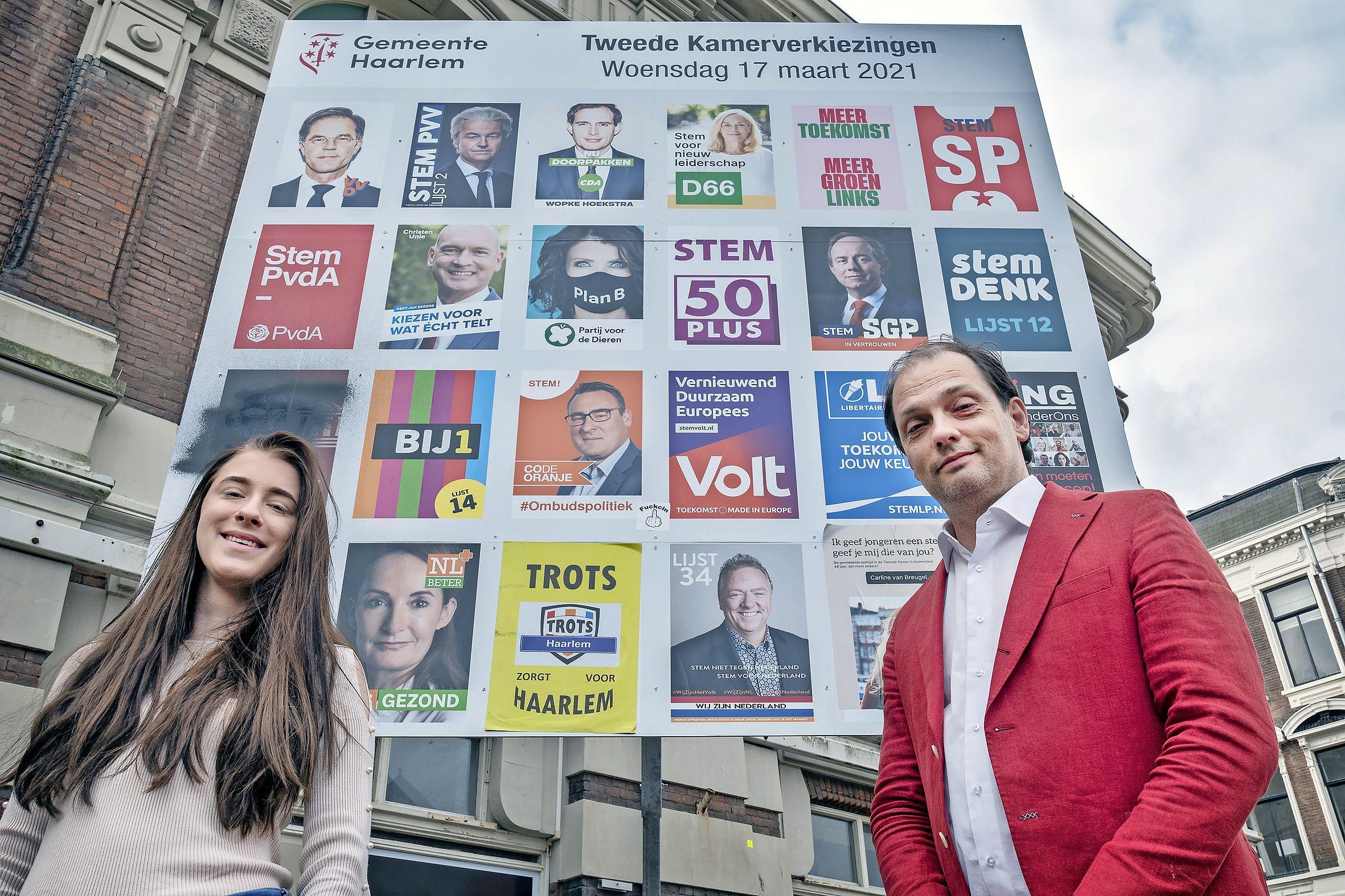 Te jong voor de politiek? Onzin, vindt Dana (17). Jonge Haarlemse staat op plek 2 bij Trots op Nederland
