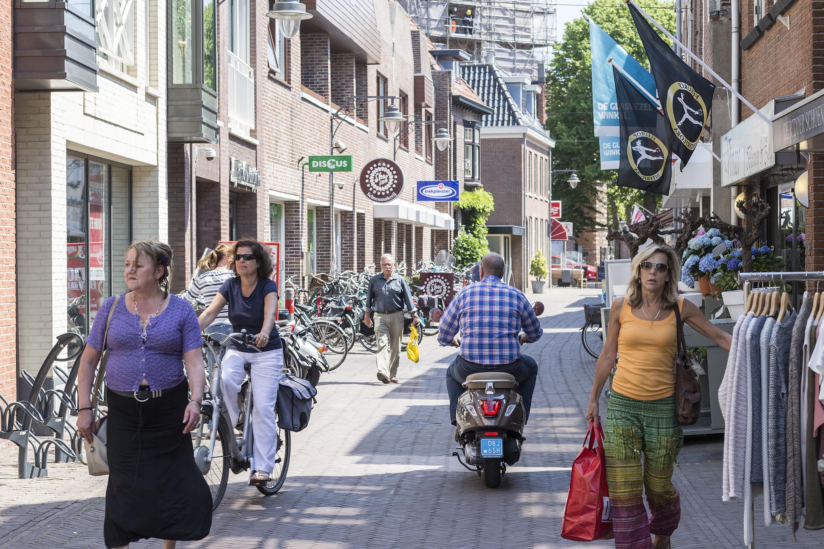 Noordwijk wil centra aantrekkelijker maken