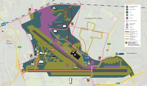 Park Vliegbasis Soesterberg mag verkocht