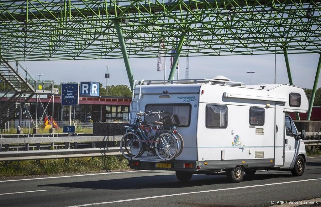 Drukte op Europese snelwegen naar het zuiden