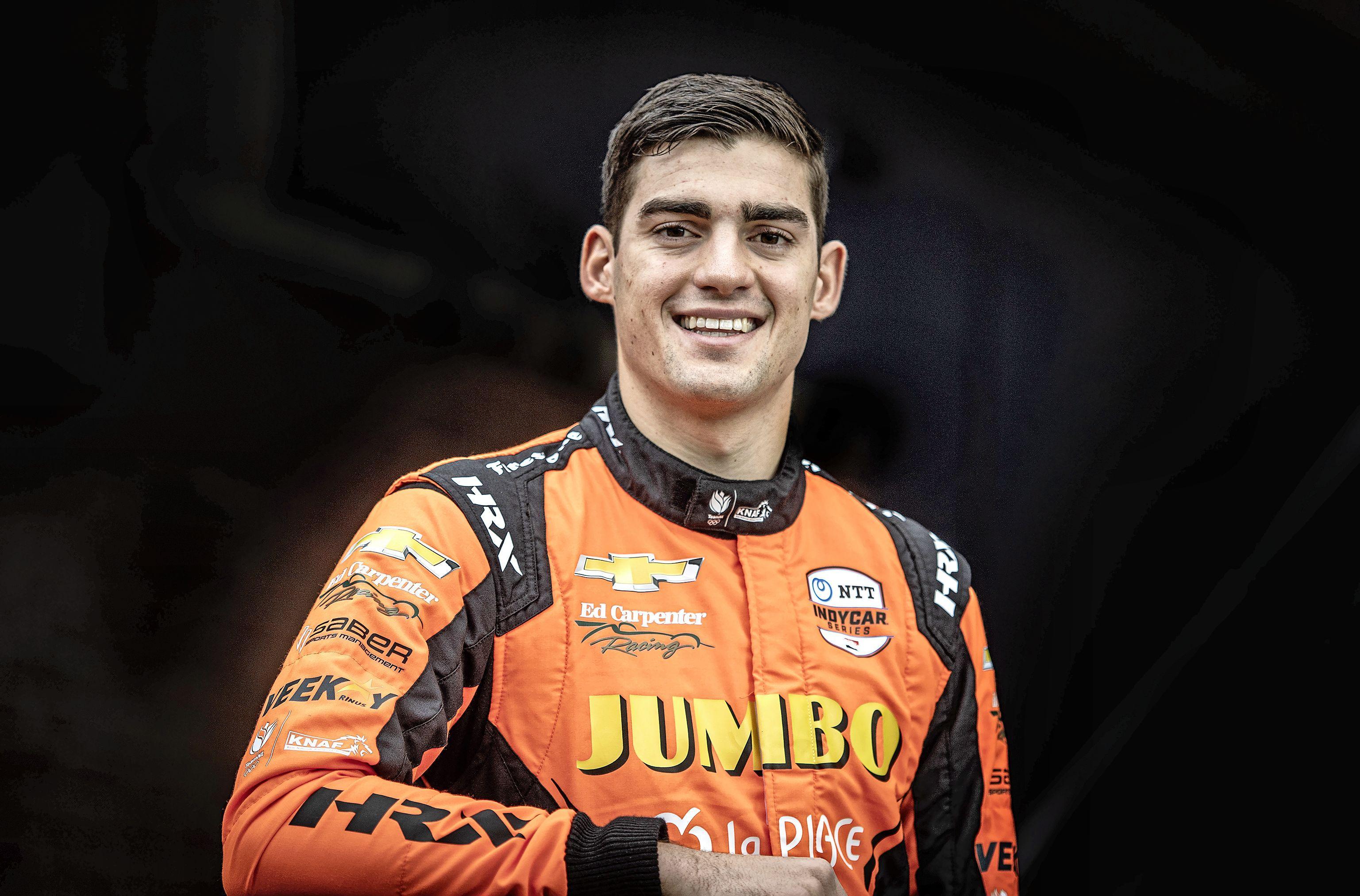 Column IndyCar-coureur Rinus van Kalmthout: 'Hagelslag gaat er snel doorheen, het zijn de kleine dingen die je mist aan Nederland'