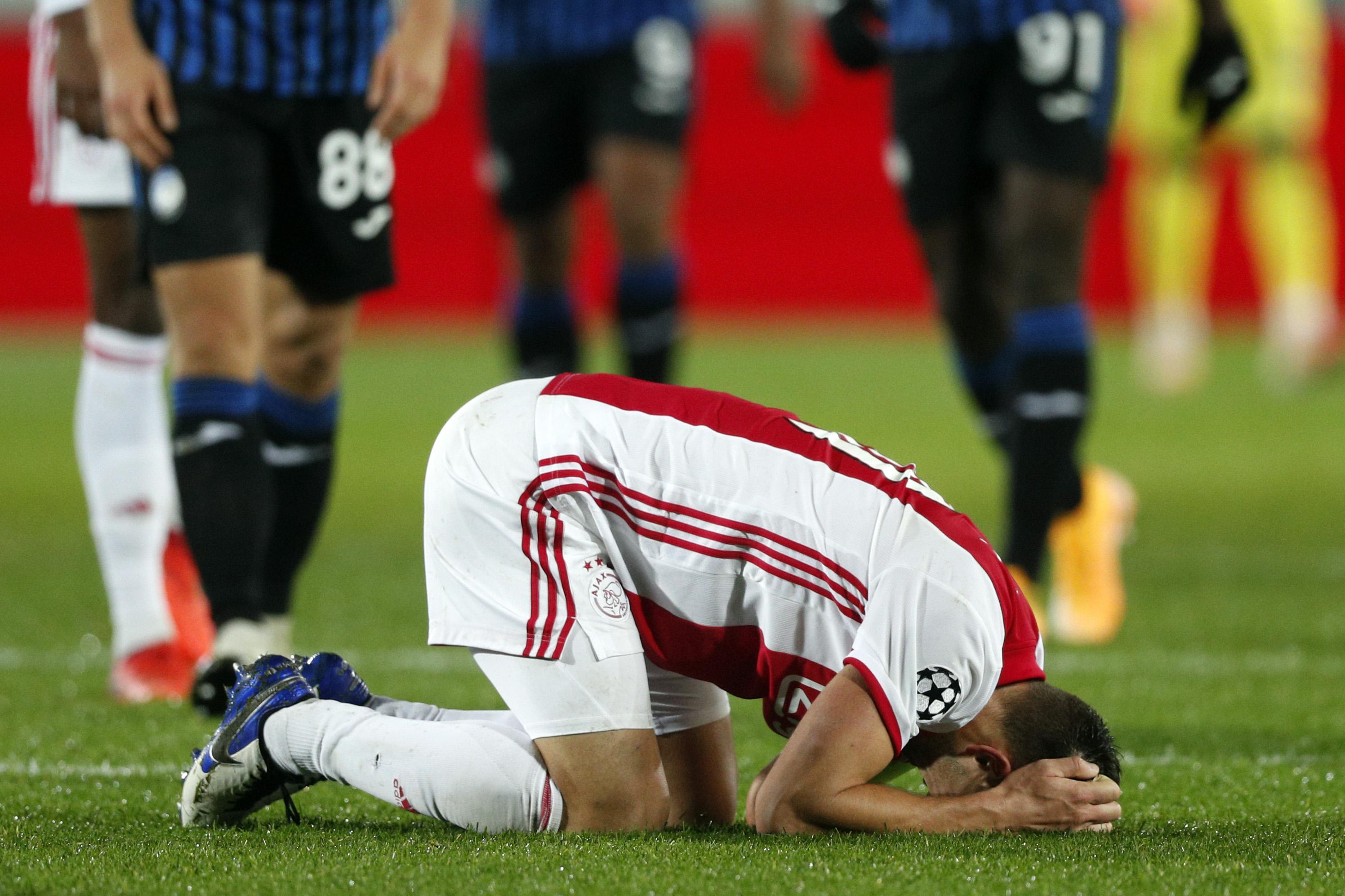 Ajax speelt gelijk bij Atalanta in Champions League