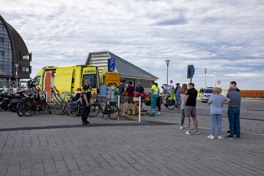 Meerdere ongevallen op de Zeeweg in Overveen, wielrenner gewond