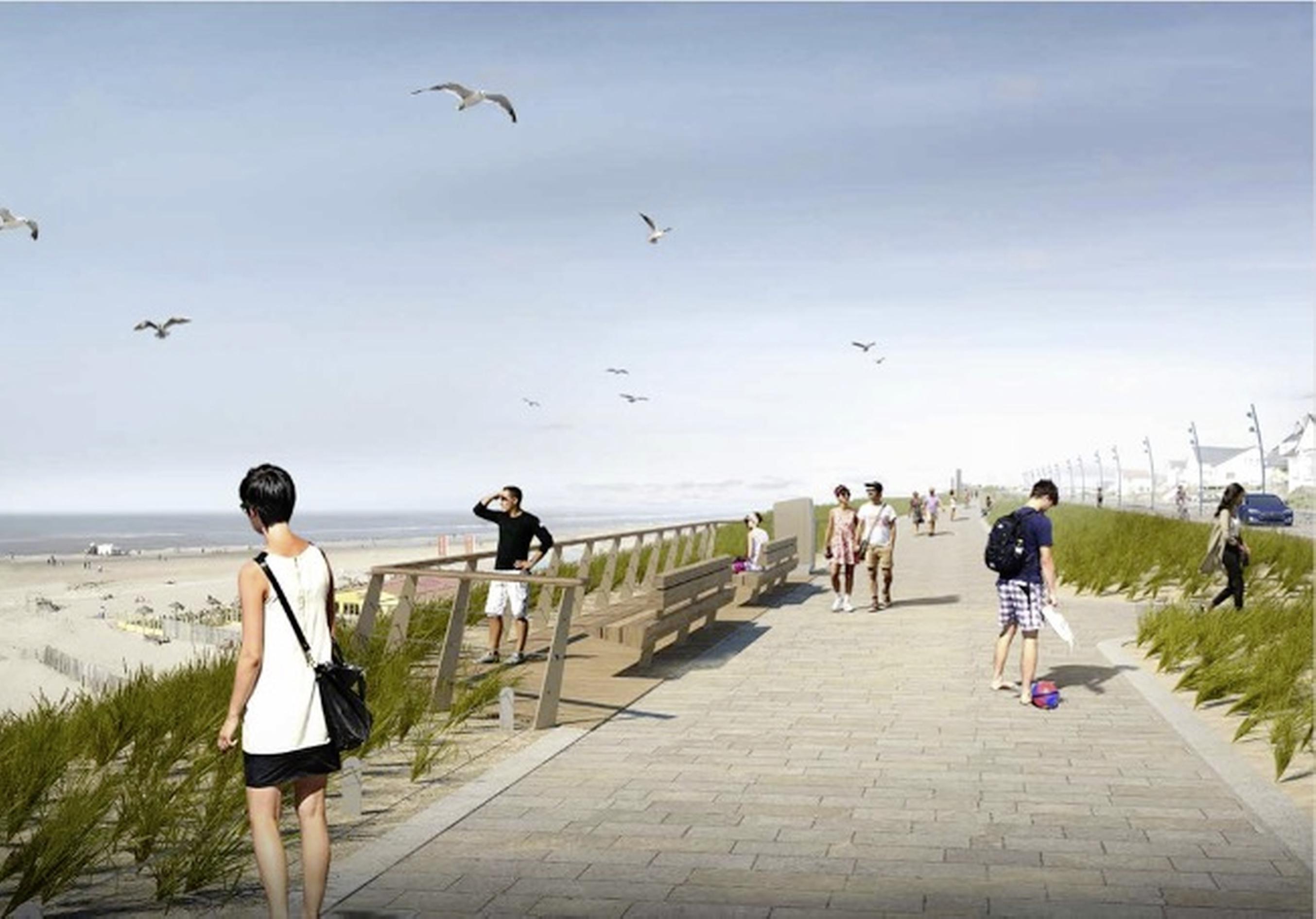 Nachtje slapen heeft geholpen: ineens unanieme goedkeuring voor opknapbeurt boulevard Zandvoort