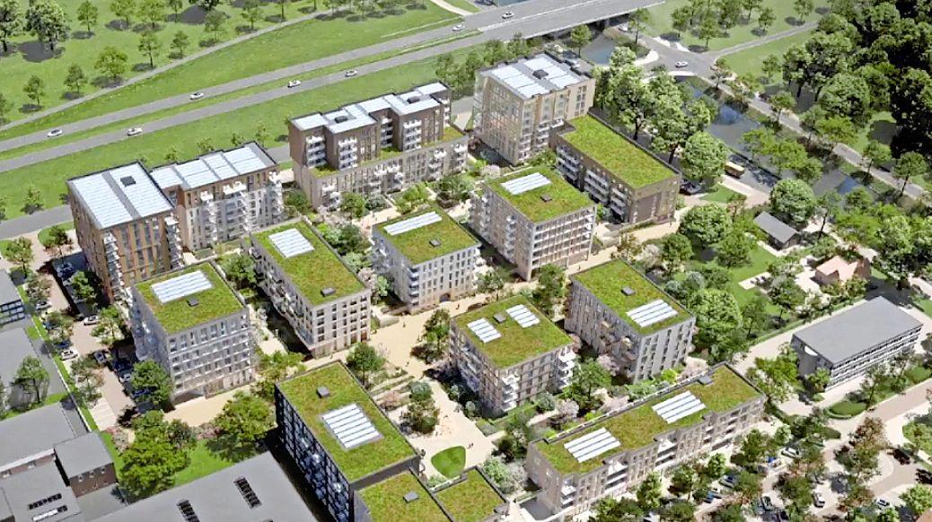 Bedrijventerrein wordt woongebied: plan voor zeshonderd stadsappartementen in Hoofddorp-Noord, waarvan dertig procent sociale huur