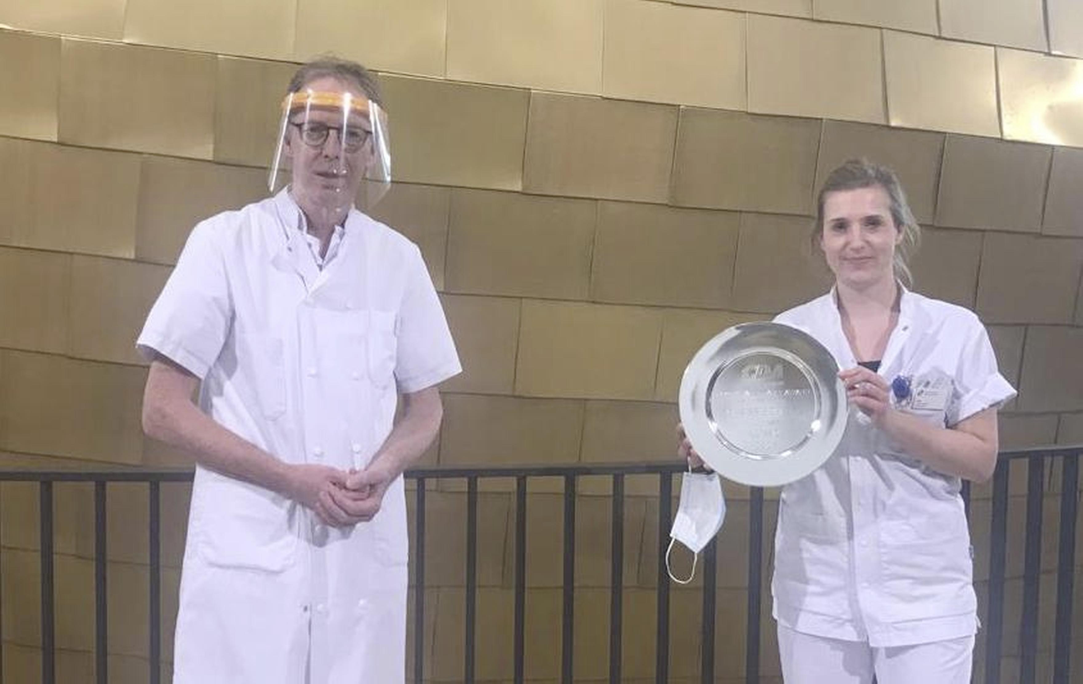 Jaarlijkse Walenkamp-award voor ziekenhuispersoneel