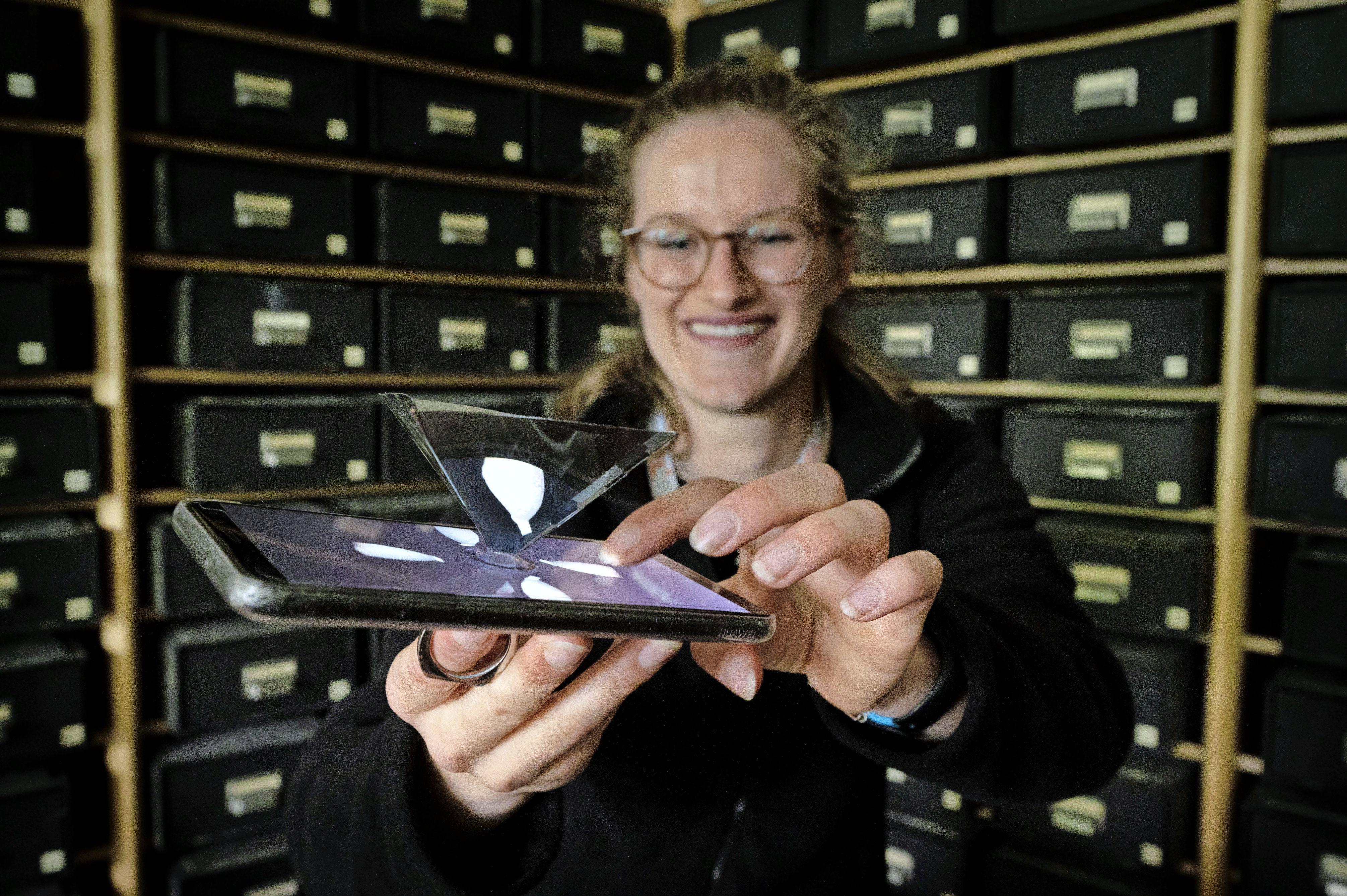 Erfgoed Leiden wil met 3D-hologram Leids verleden tot leven brengen