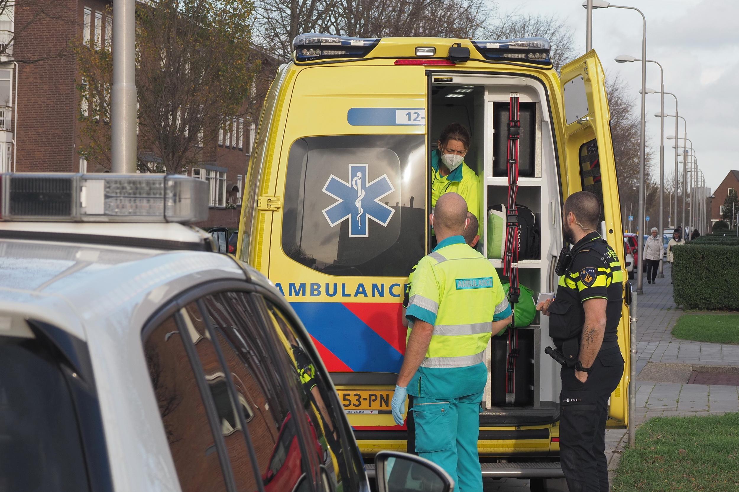 Fietser gewond bij aanrijding op Orionweg in IJmuiden