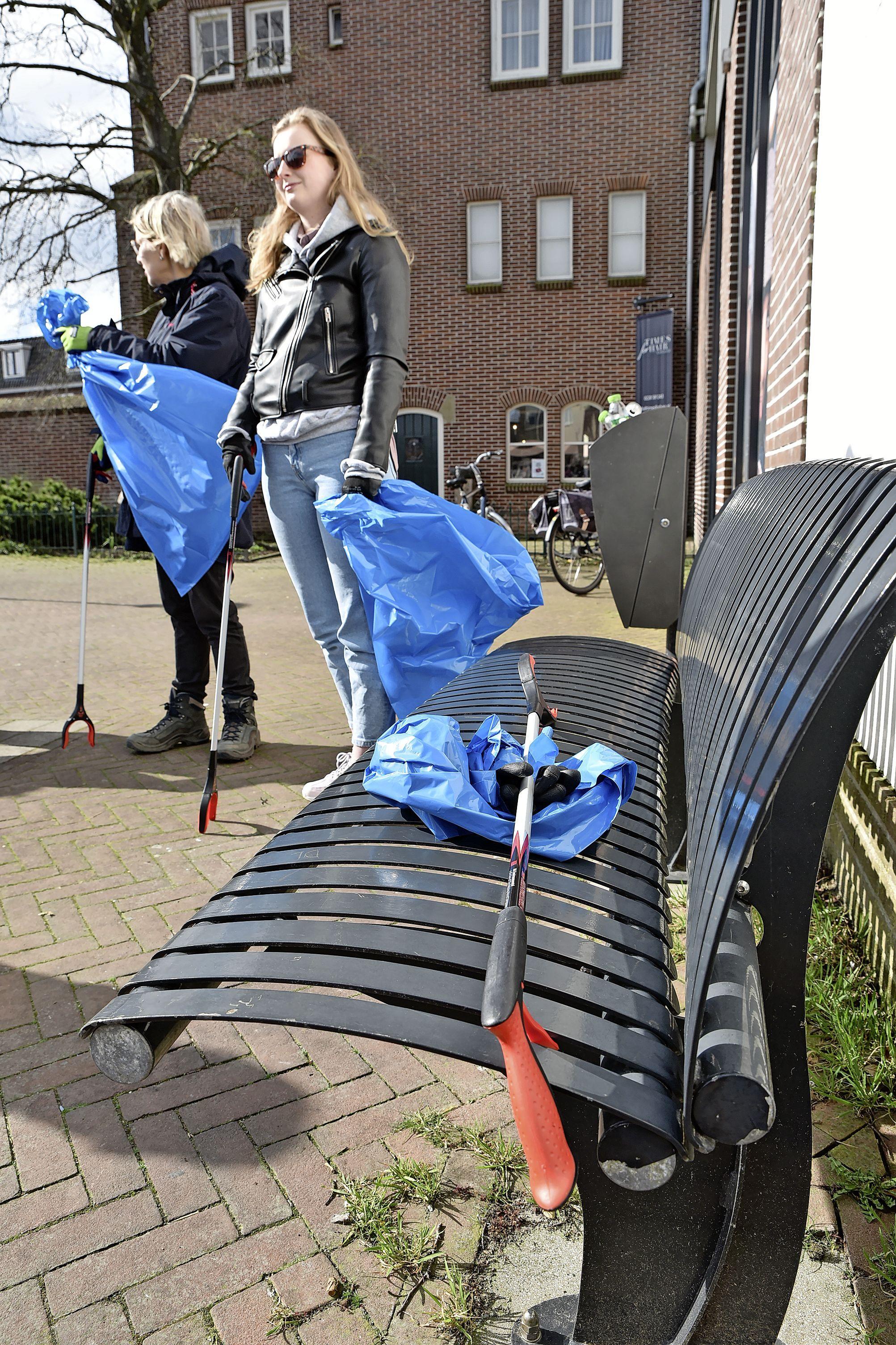 Grijpgrage Rotary popelt om in actie te komen, maar: Drechterland is opvallend schoon