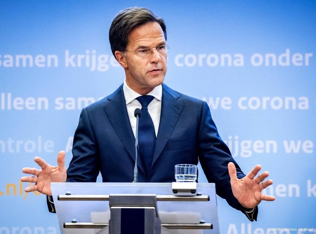 Iets meer kijkers voor persconferentie Rutte