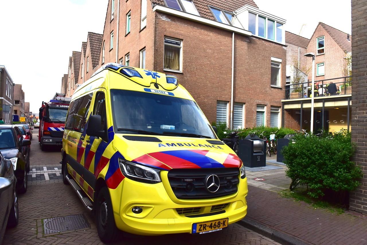 Twee gewonden in Leiden door explosie van spuitbus