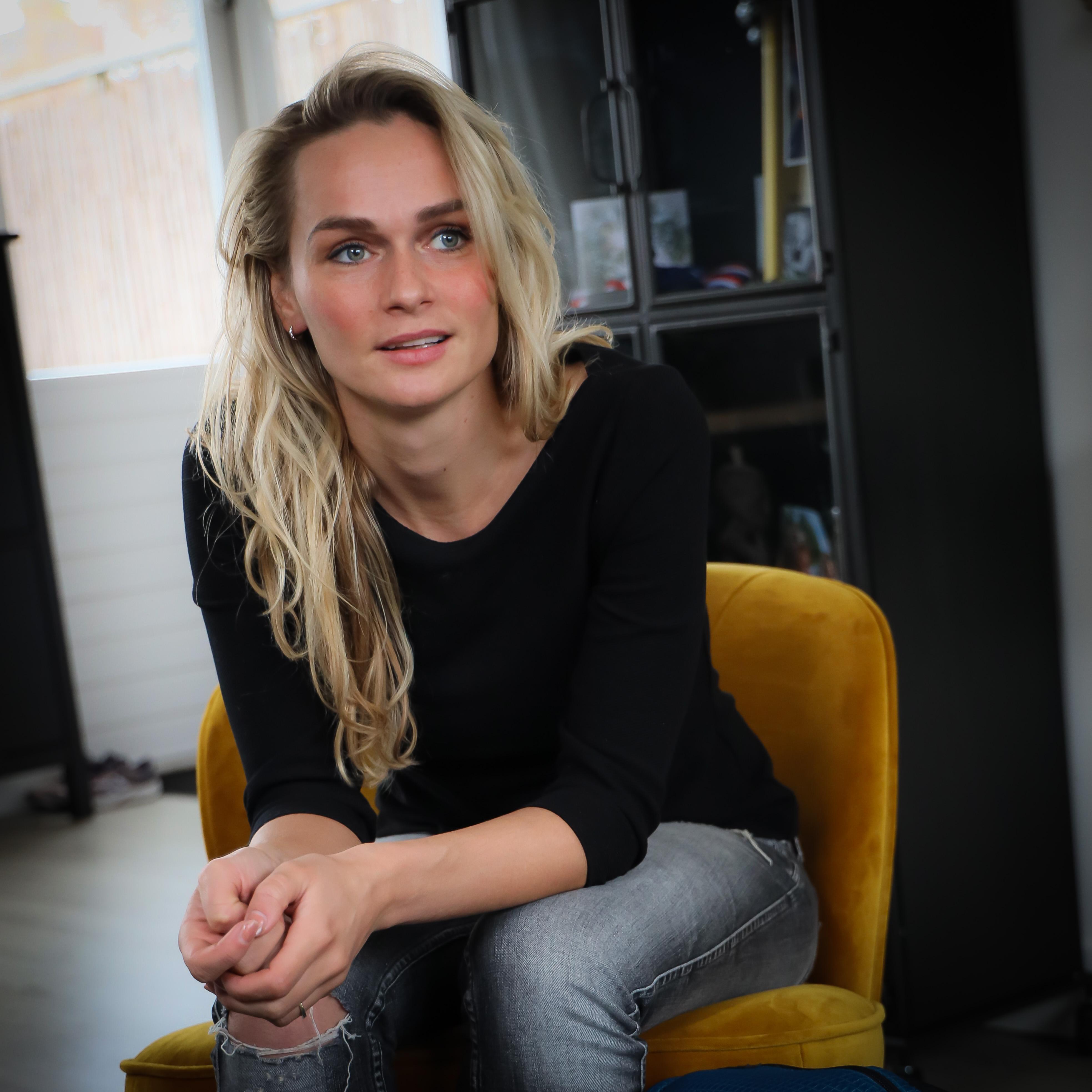 De liefde helpt schaatsster Irene Schouten altijd