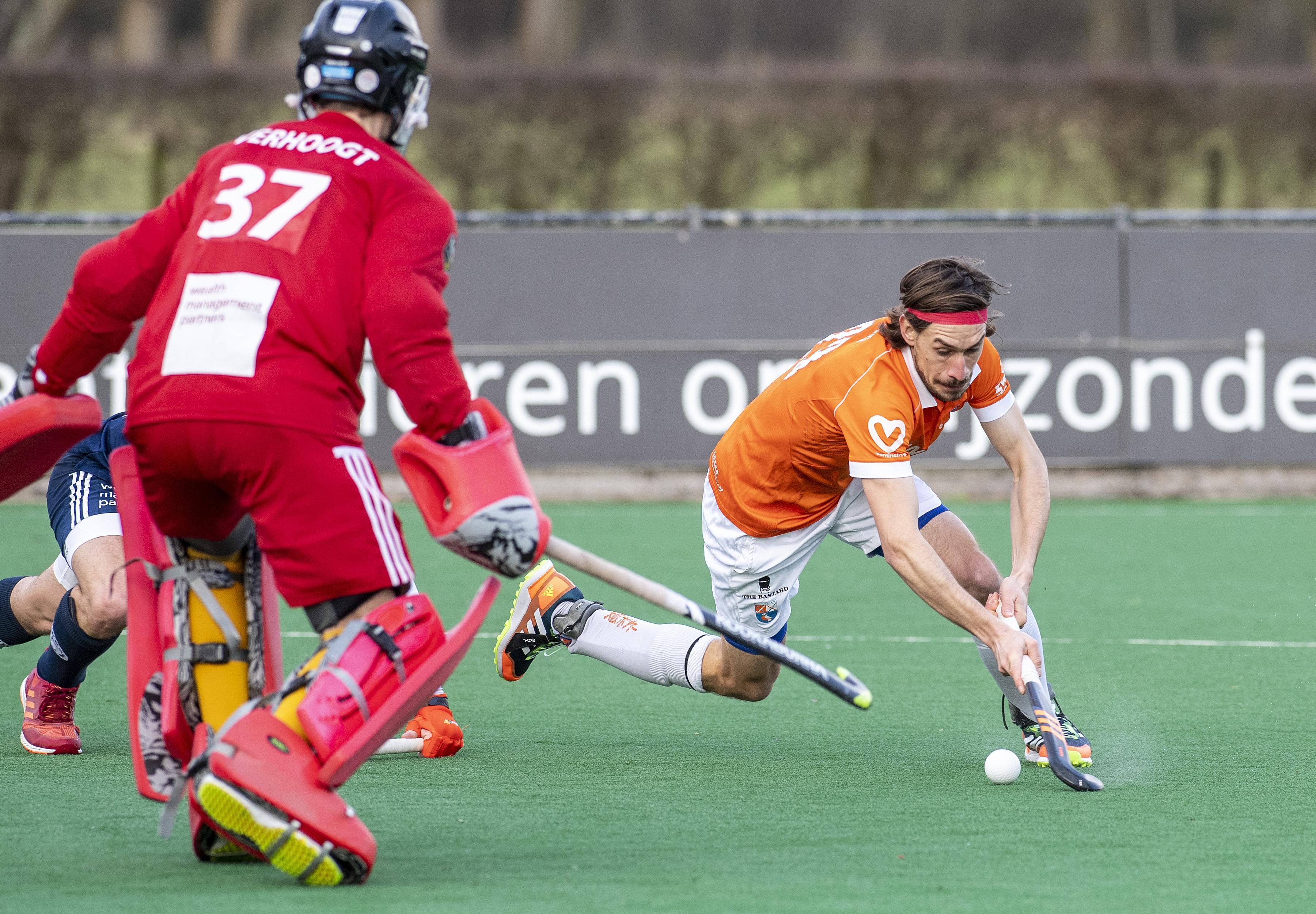 Rick Mathijssen van Bloemendaal: 'Als de instelling honderd procent is, kunnen wij iedere tegenstander kapot spelen'