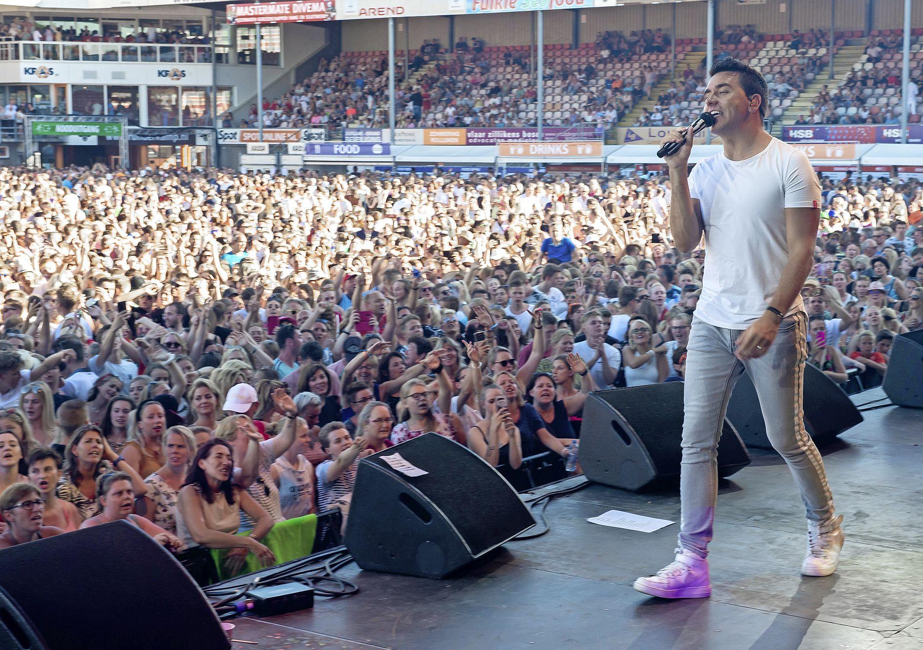 Votown Festival in Kras-Stadion Volendam afgelast vanwege corona