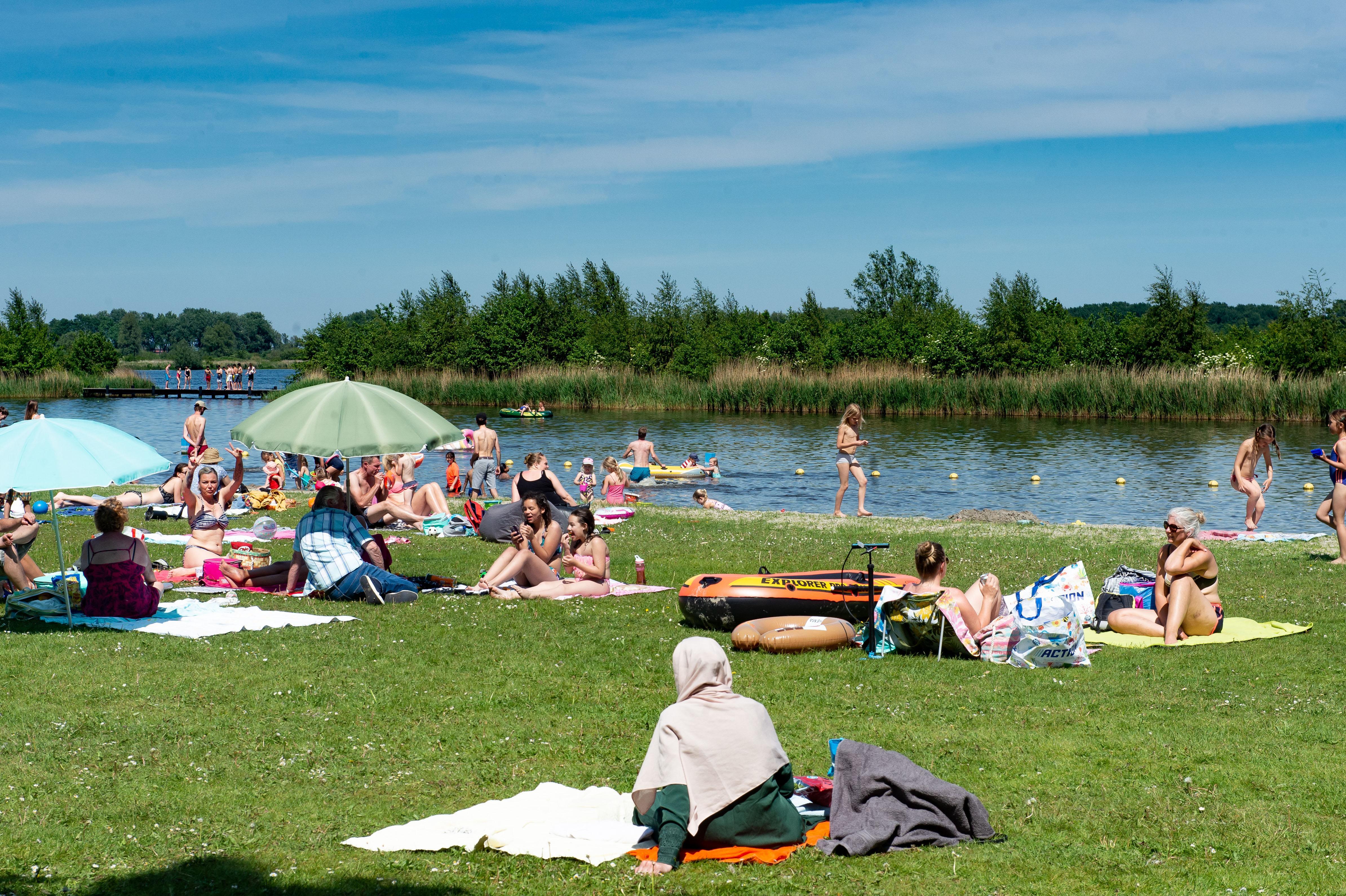 Zwemverbod afgegeven voor Schoorlstrand in natuurgebied Twiske