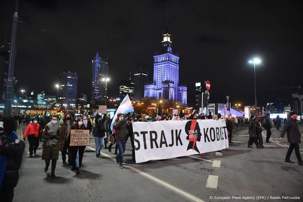 Nieuwe protesten in Polen tegen aangescherpte abortusregels