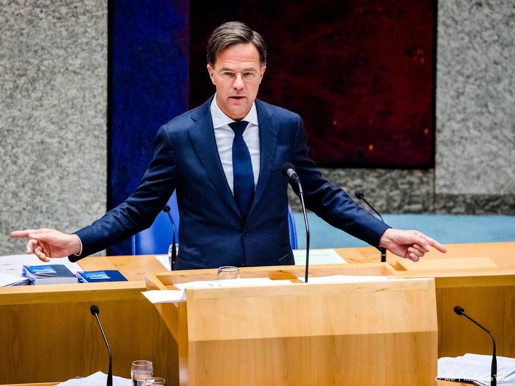 Rutte: mondkapje in publieke ruimte dringend advies vanaf nu