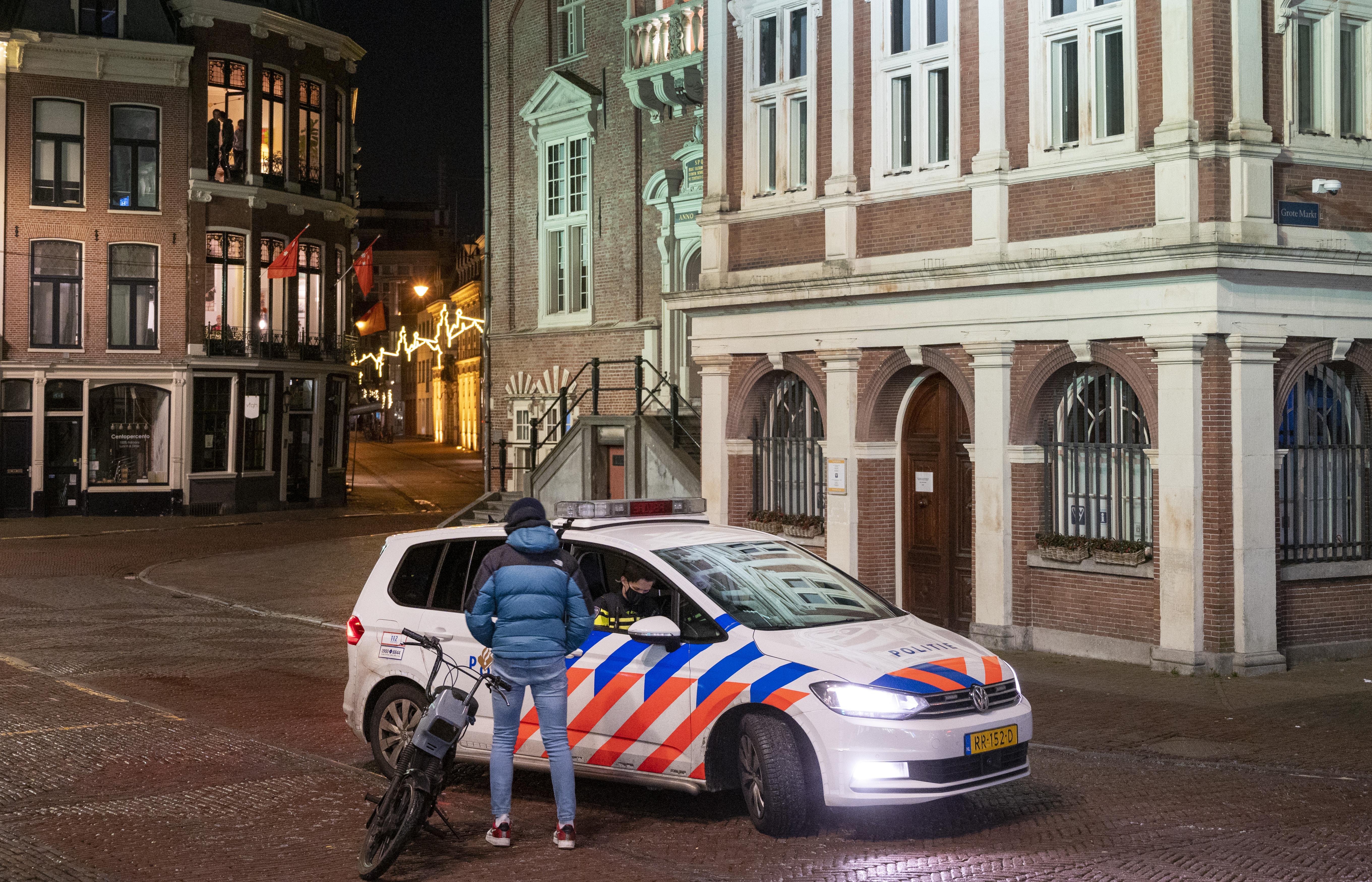 In Haarlem is het doodstil als zaterdagavond de avondklok ingaat