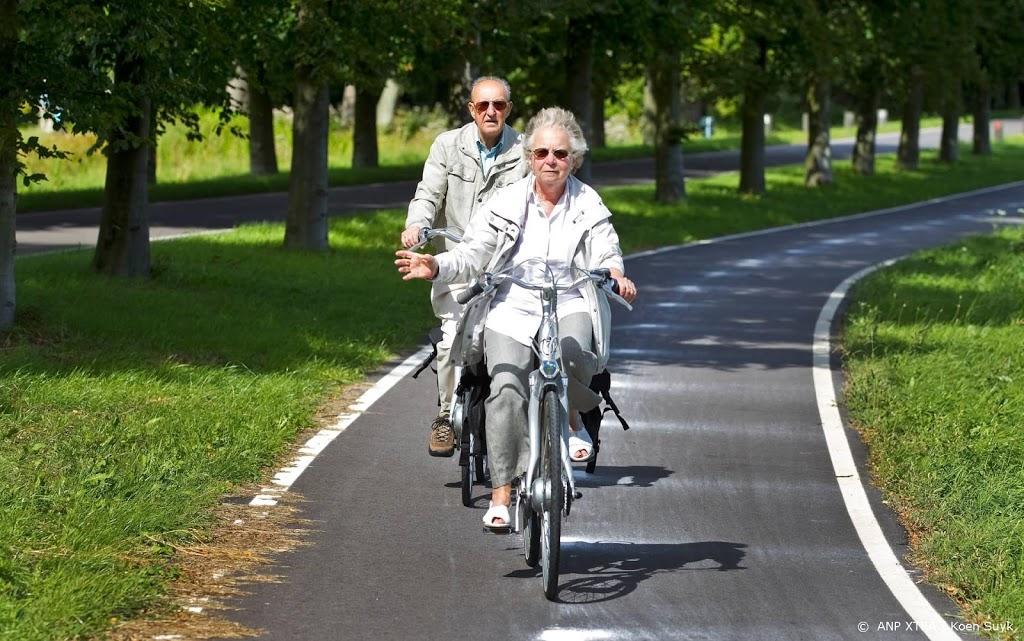 Ouderen rijden vaker op een gewone fiets dan op een e-bike