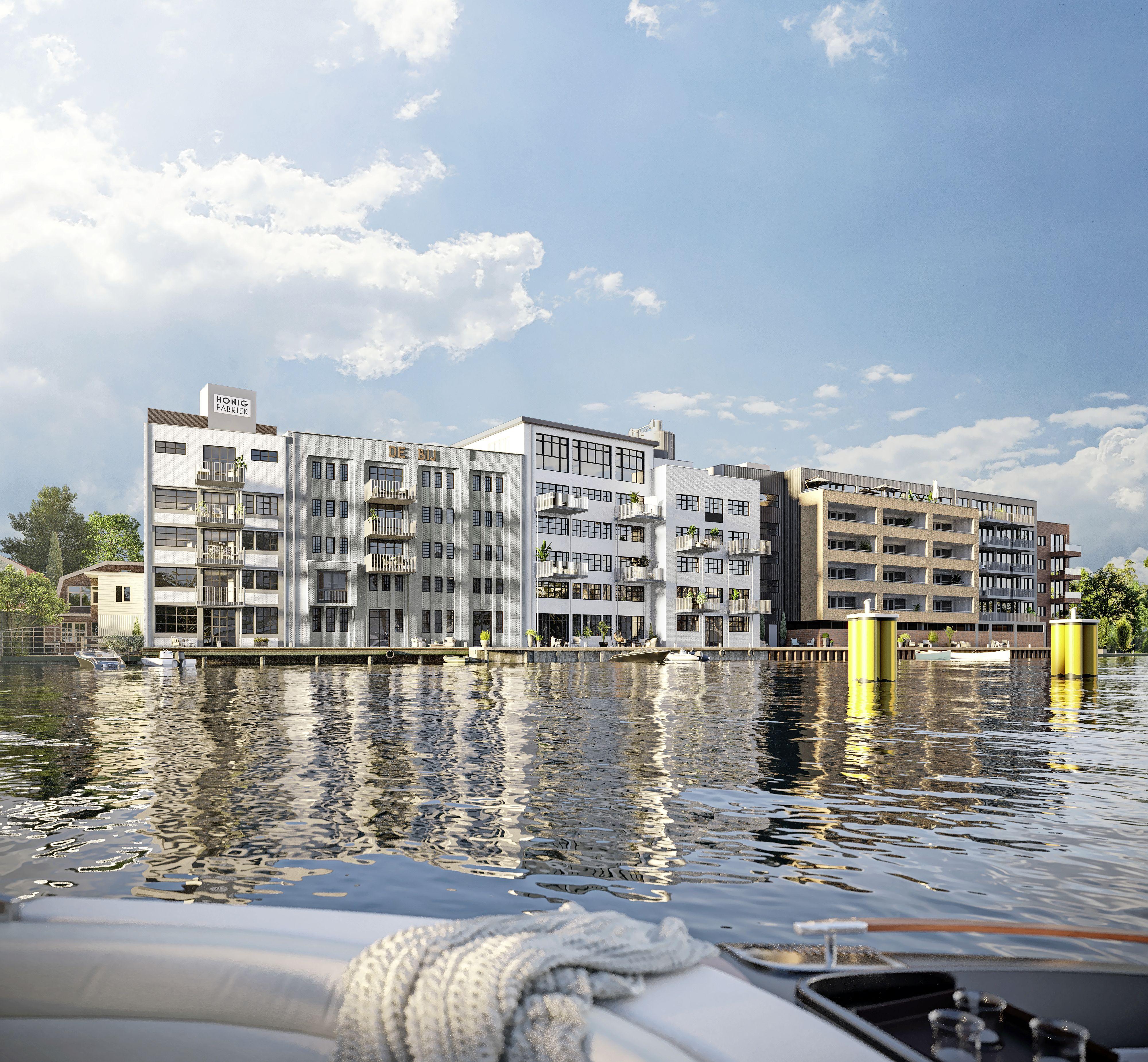 Ontwikkelaar hoopt dit najaar te beginnen met verbouwen monumentale Honigfabriek in Koog aan de Zaan. 'Die lofts worden heel hippe dingen'