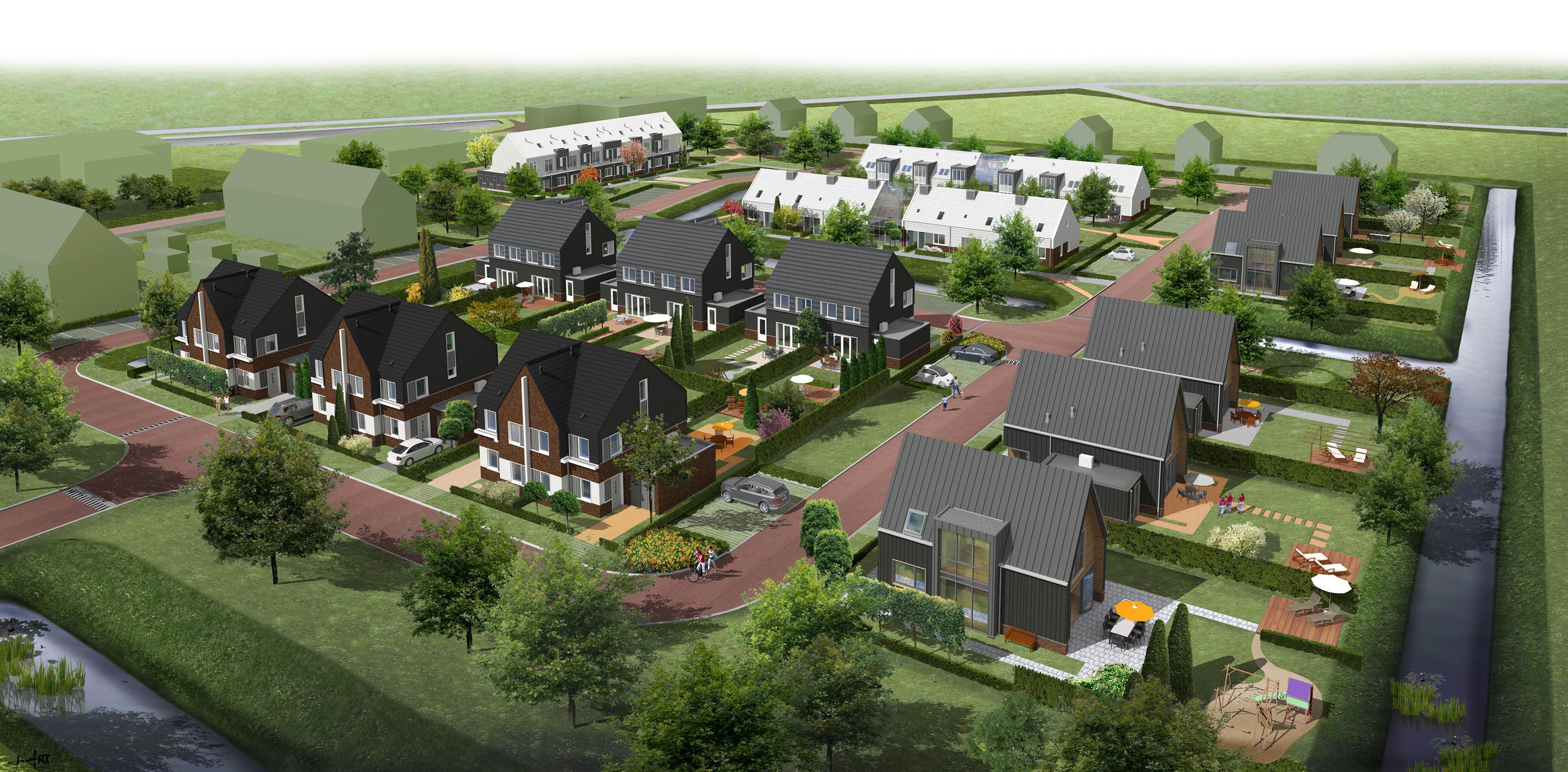 Enorme interesse voor woningen Het Nieuwe Glas in Tuitjenhorn; verkoop start met speeddates op 16 september