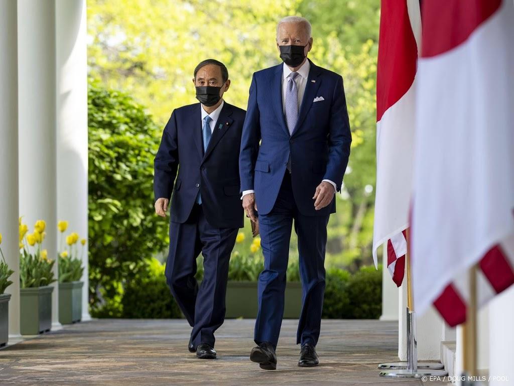 Leiders VS en Japan tonen zich eensgezind tegenover China