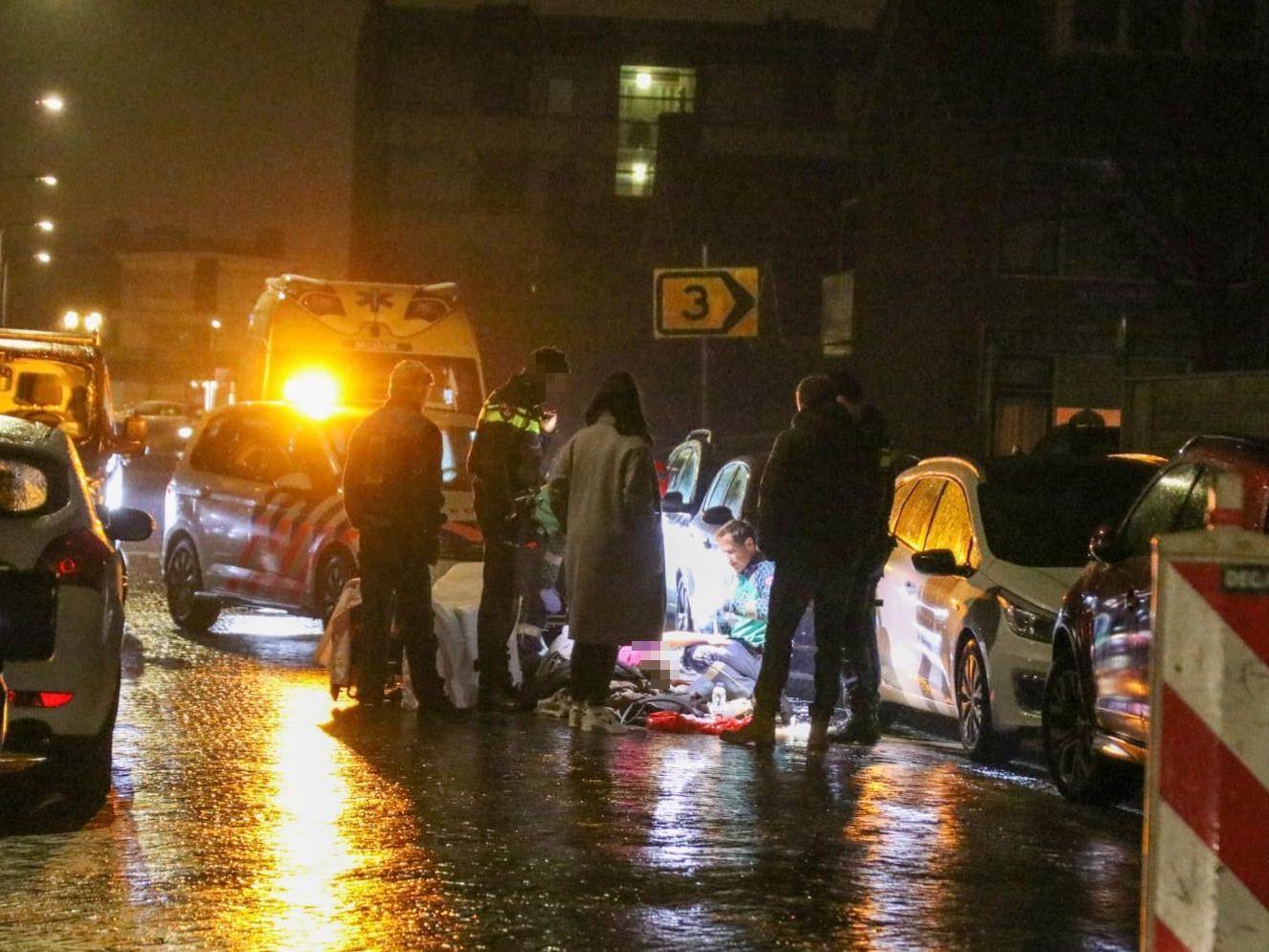 KNMI waarschuwt voor gladheid en ijzel; ongelukken in de Duin en Bollenstreek en Leiden