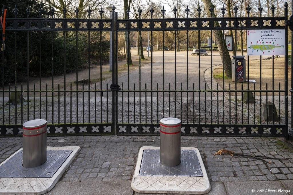 Vondelpark voor derde dag op rij gesloten wegens drukte