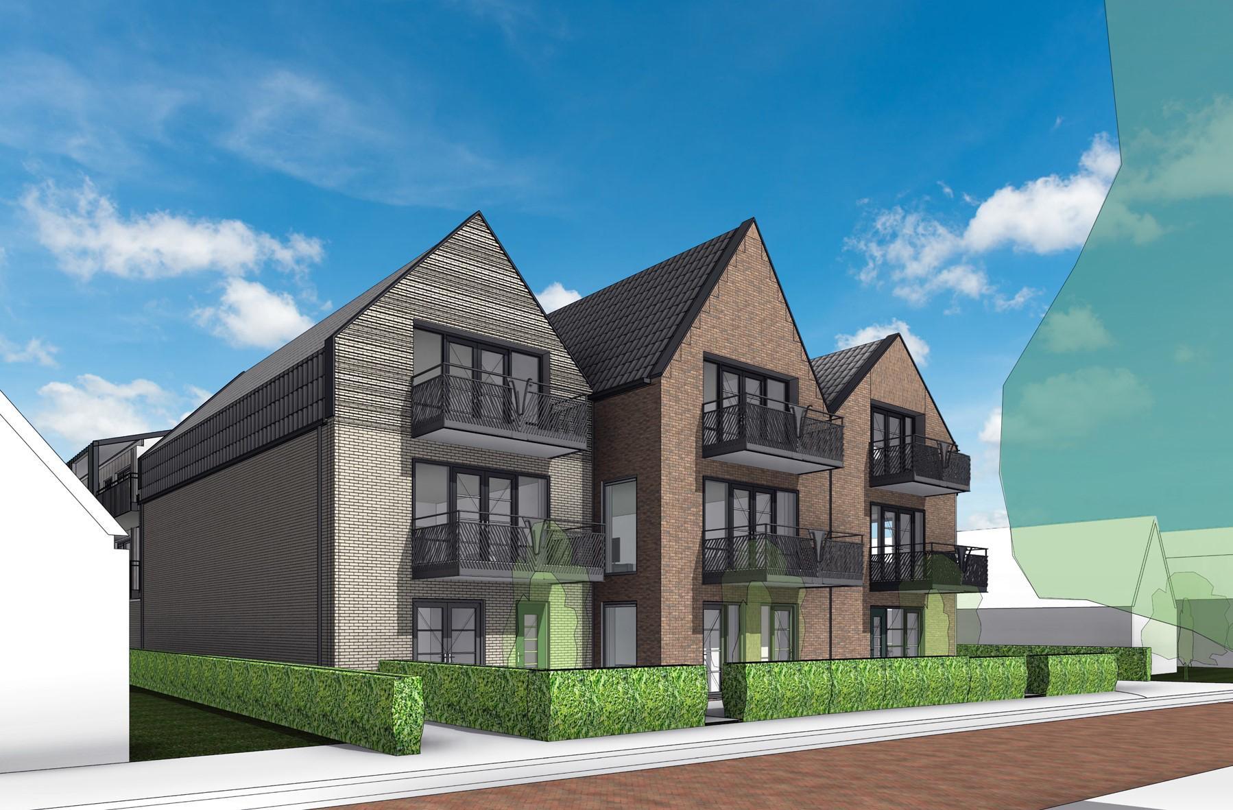 Langedijk tekent binnenkort voor 22 appartementen aan de Bovenweg in Sint Pancras
