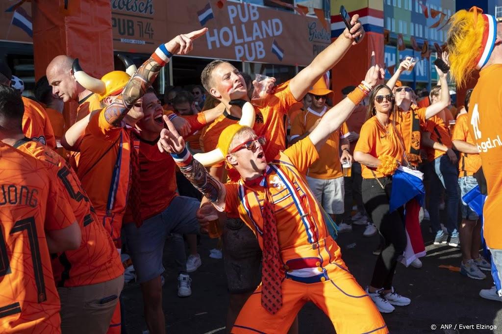 Fans van Oranje zonder al te veel problemen naar binnen in ArenA