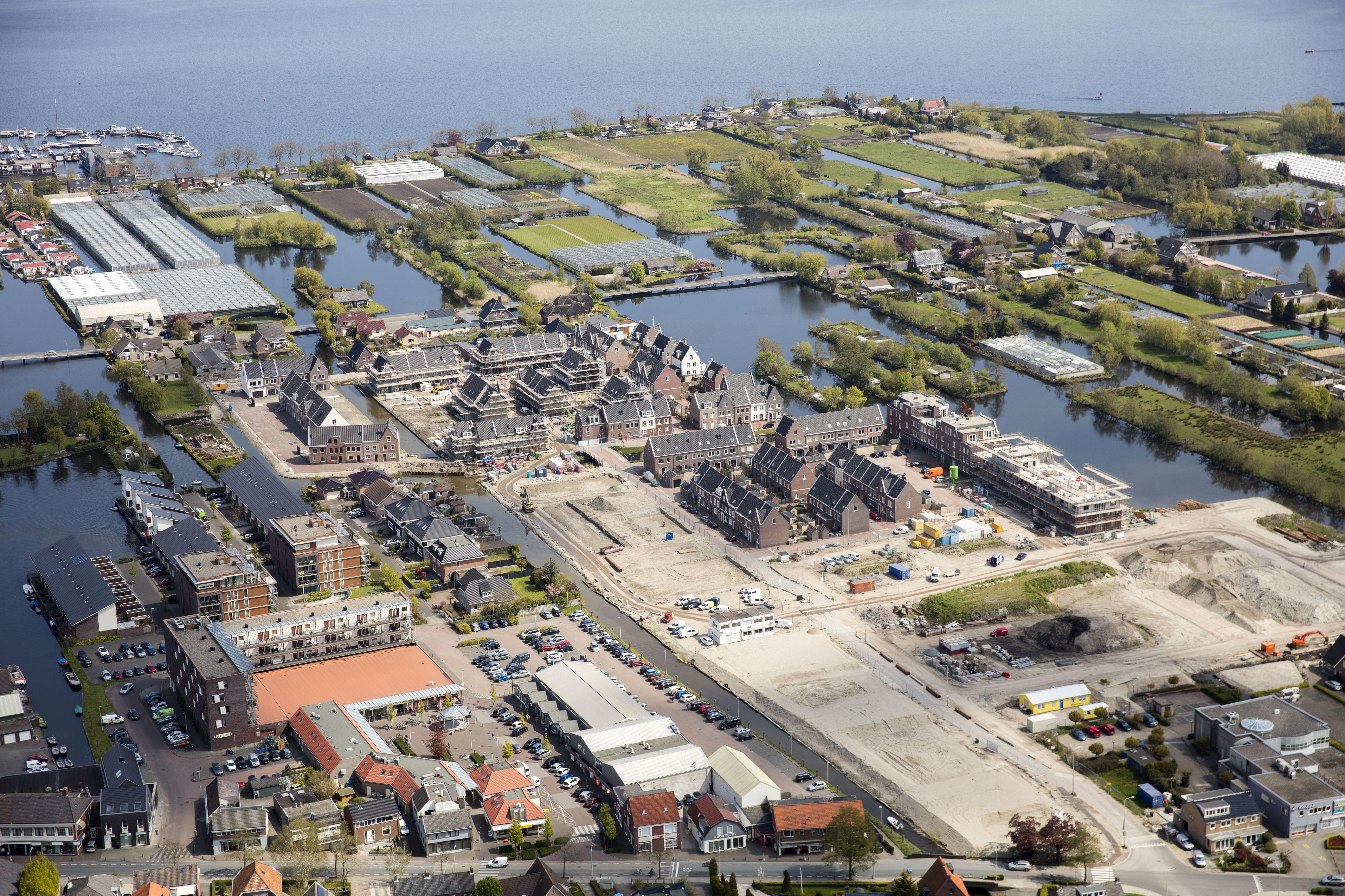 Het gaat eigenlijk best goed met de woningbouw in de regio Leiden