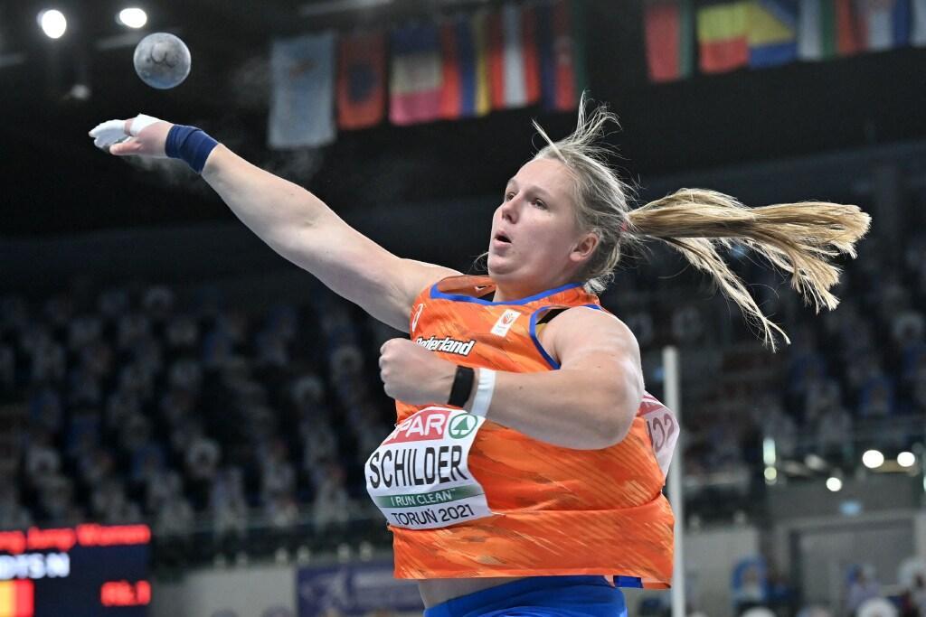 Volendamse kogelstootster Jessica Schilder pakt ticket voor Spelen na persoonlijk record bij EK indoor
