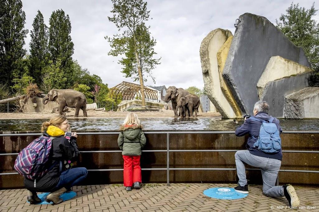 Run op kaartjes dierentuinen voor proefopening