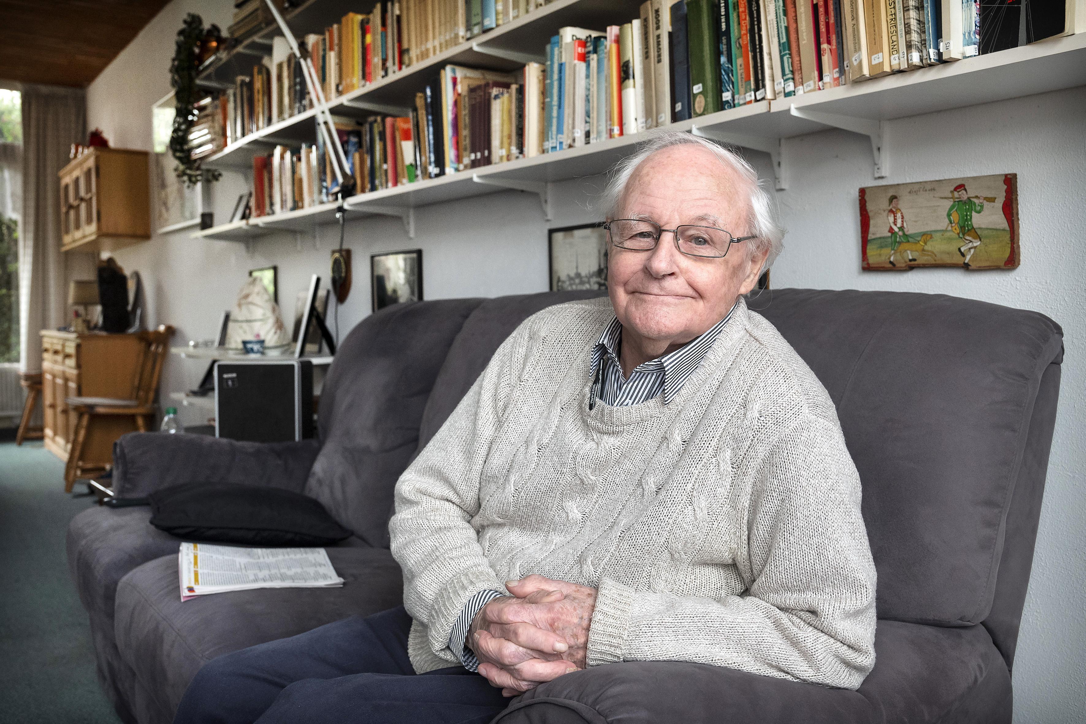 Dick Verkijk zag in 1945 luchtaanval op Haarlemse kinderen: 'De Engelse piloot dacht natuurlijk 'Hé, een moffenauto, schieten!'