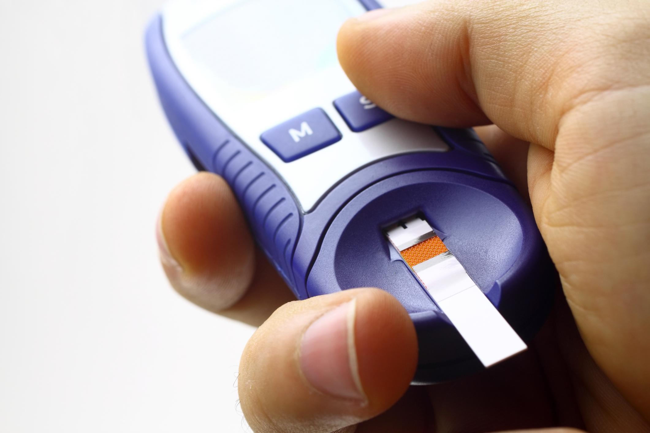 Teststrips diabetes van Lia Loosschilder door computerfoutje duurder dan nodig is