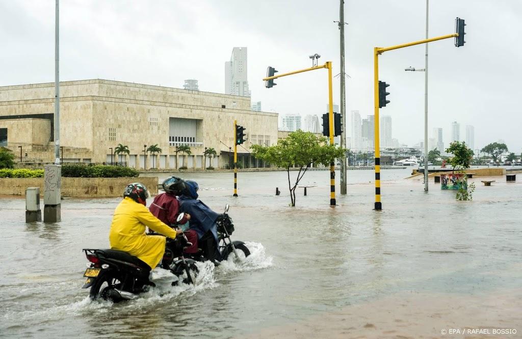 Tropische storm Iota stevent af op Midden-Amerika