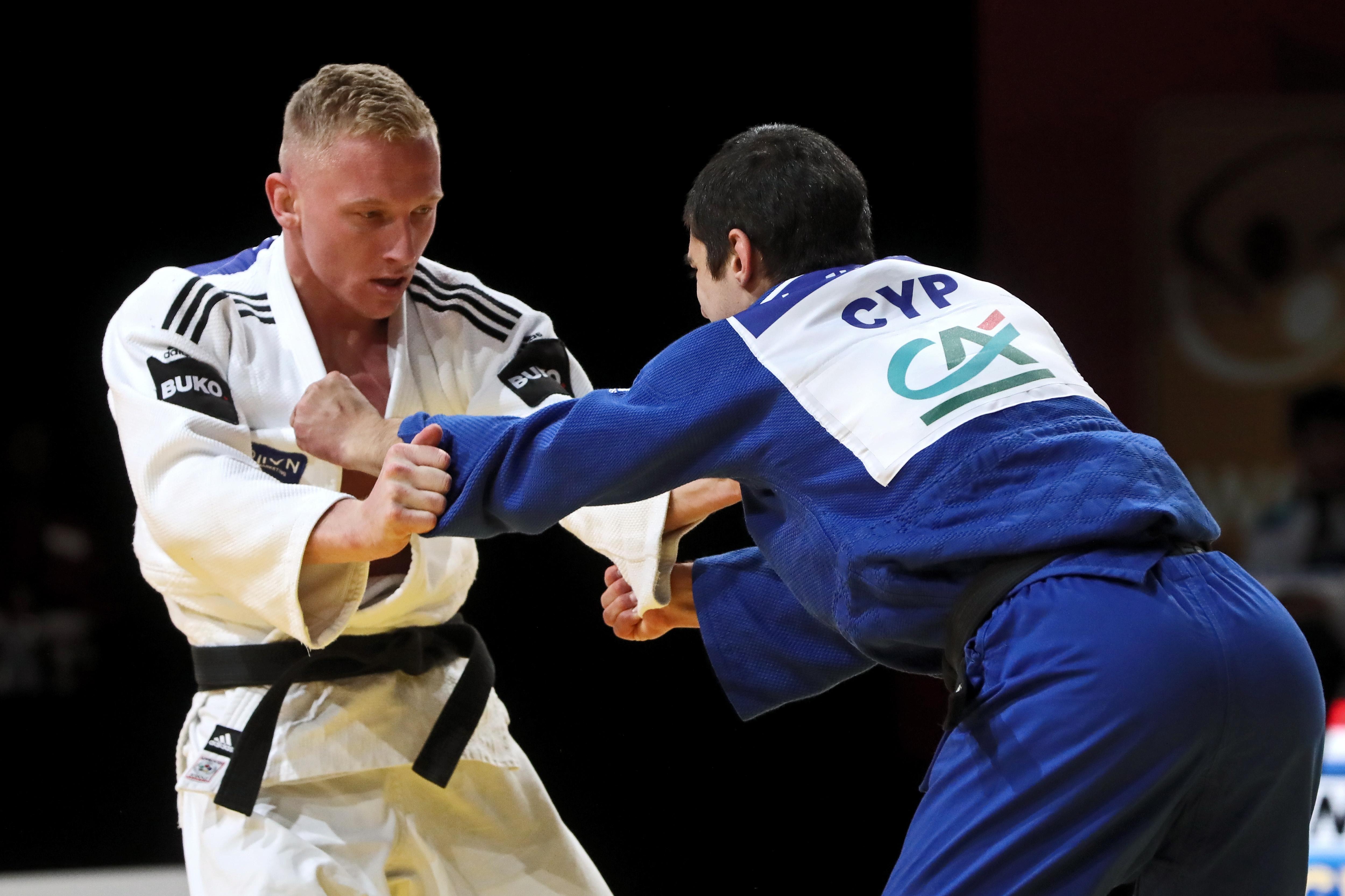 Judoka Frank de Wit grijpt naast brons op eerste grote toernooi na ruim acht maanden coronapauze