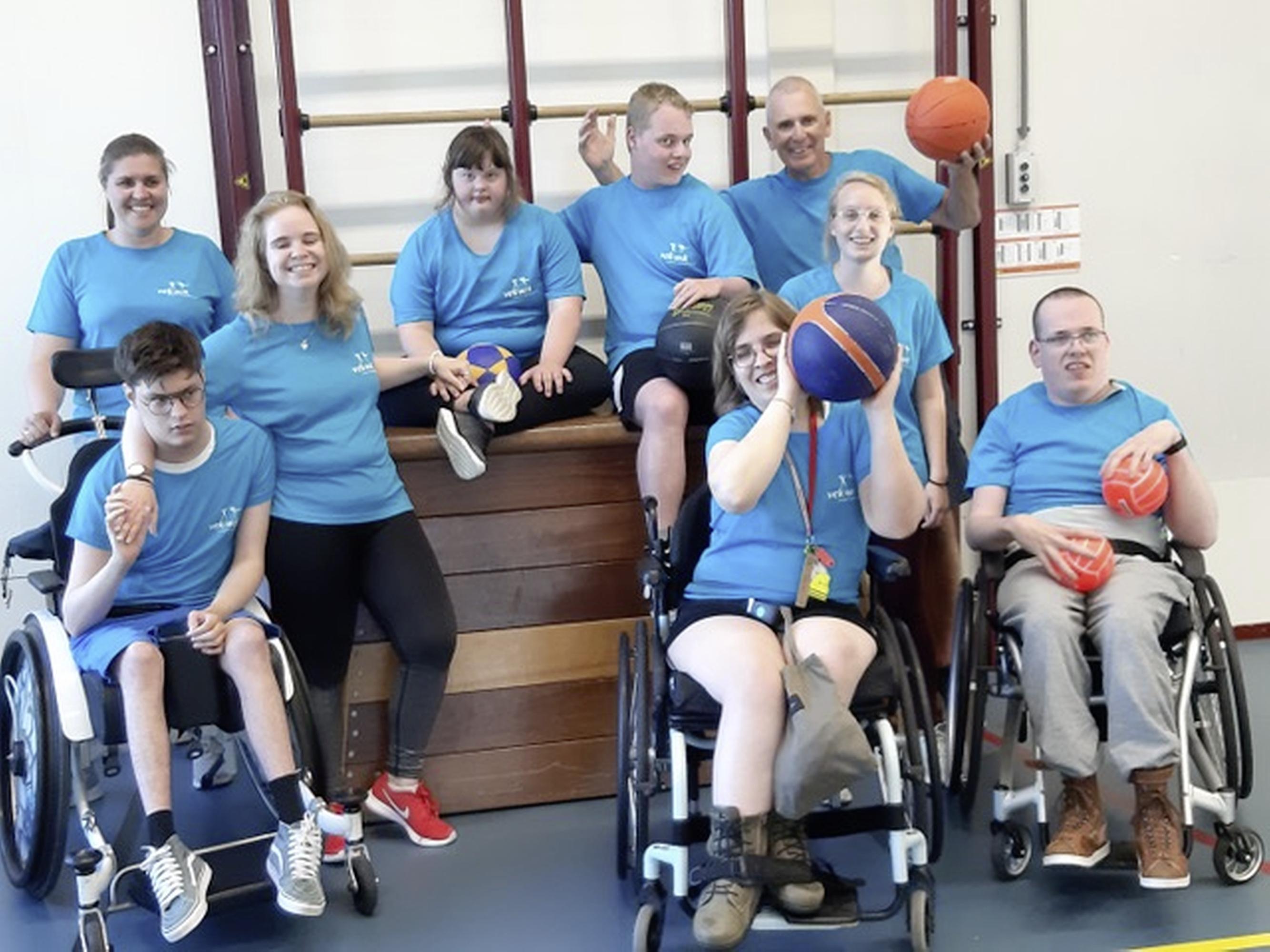 'Yes, we mogen weer!' Special Gym Vek-Wik werkt zich weer in het zweet en het is een feestje