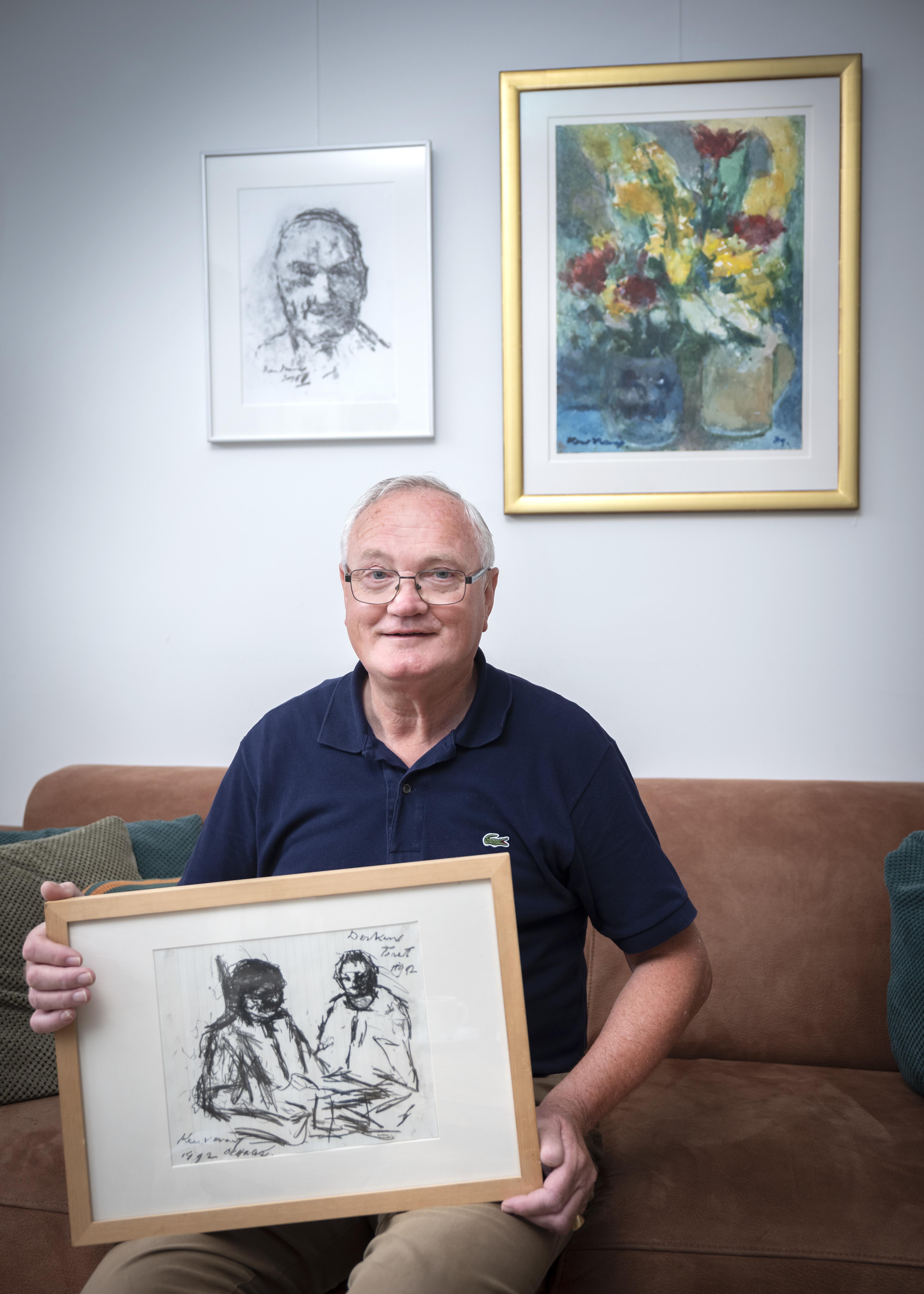 Fred Hoogland wil herinnering aan kunstschilder Kees Verwey levend houden: 'Ik had heel veel respect voor hem'