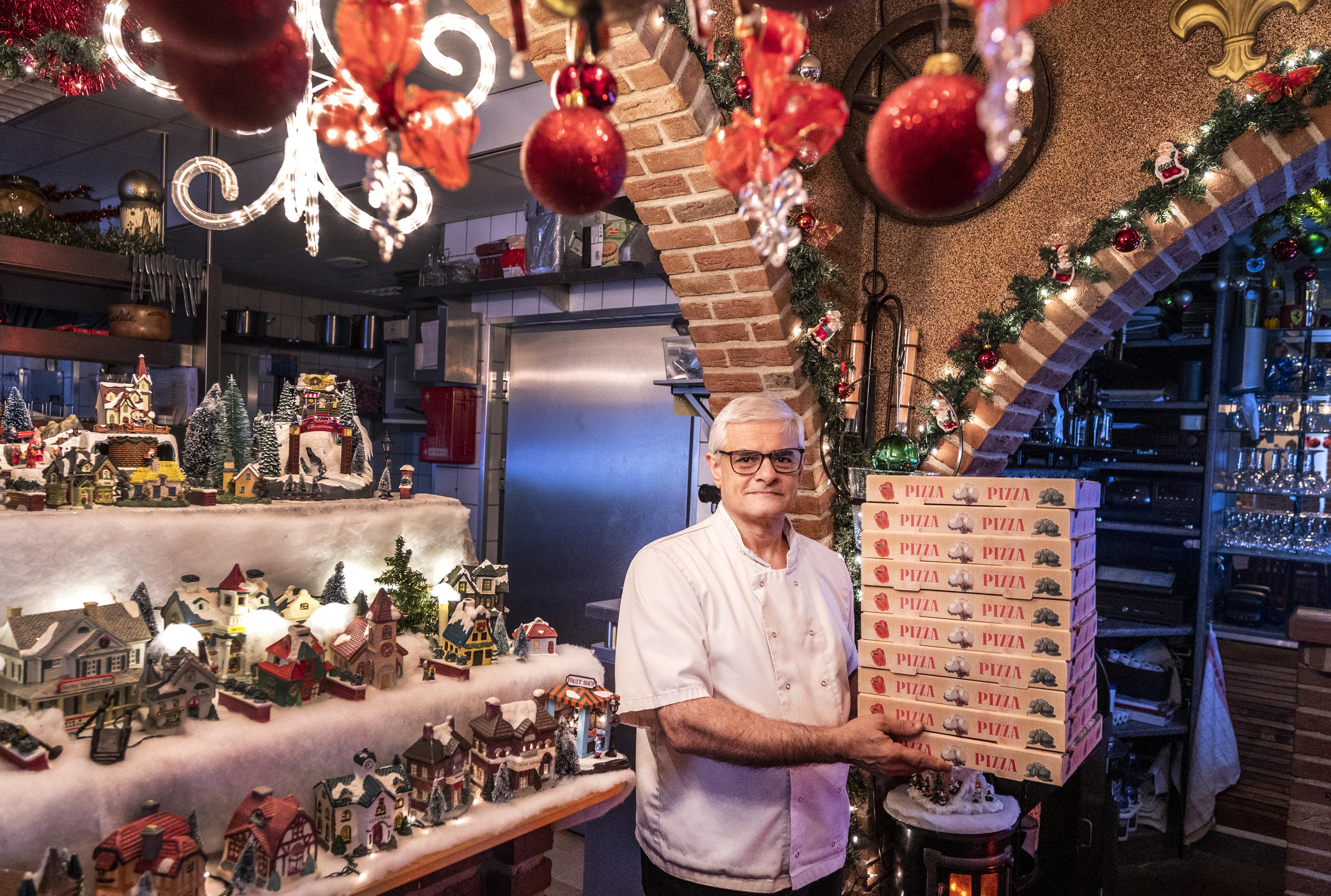 Thuis uit eten | Bij Maurizio in IJmuiswn kun je ook voor een afhaalkerstmenu terecht